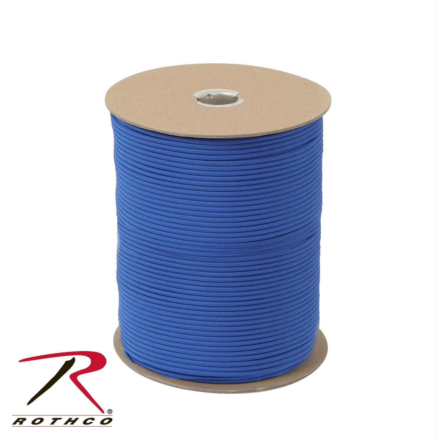 Rothco Nylon Paracord 550lb 1000 Ft Spool - Royal Blue
