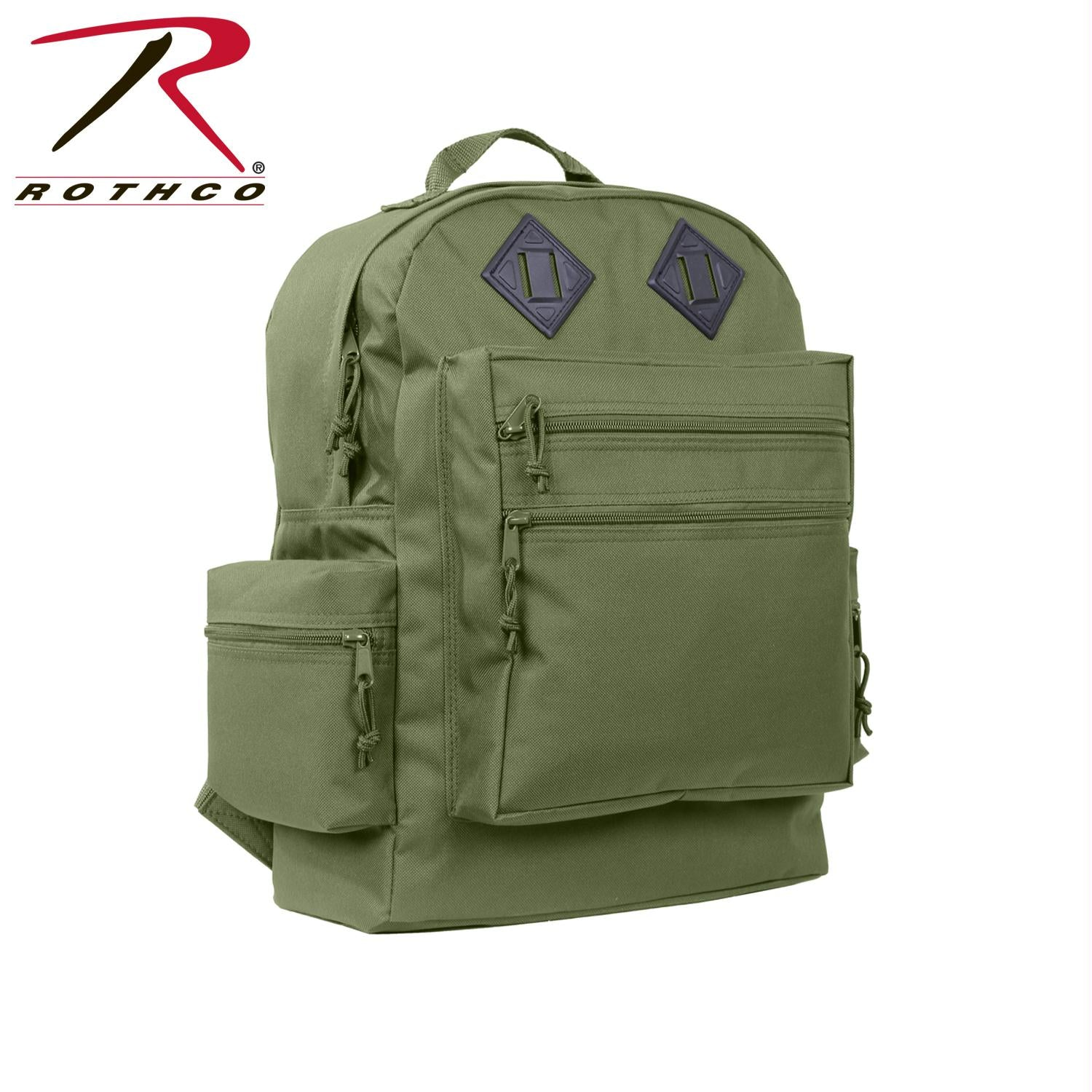 Rothco Deluxe Day Pack - Olive Drab
