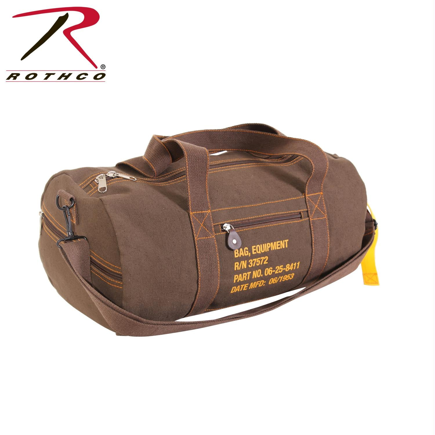 Rothco Canvas Equipment Bag - Earth Brown
