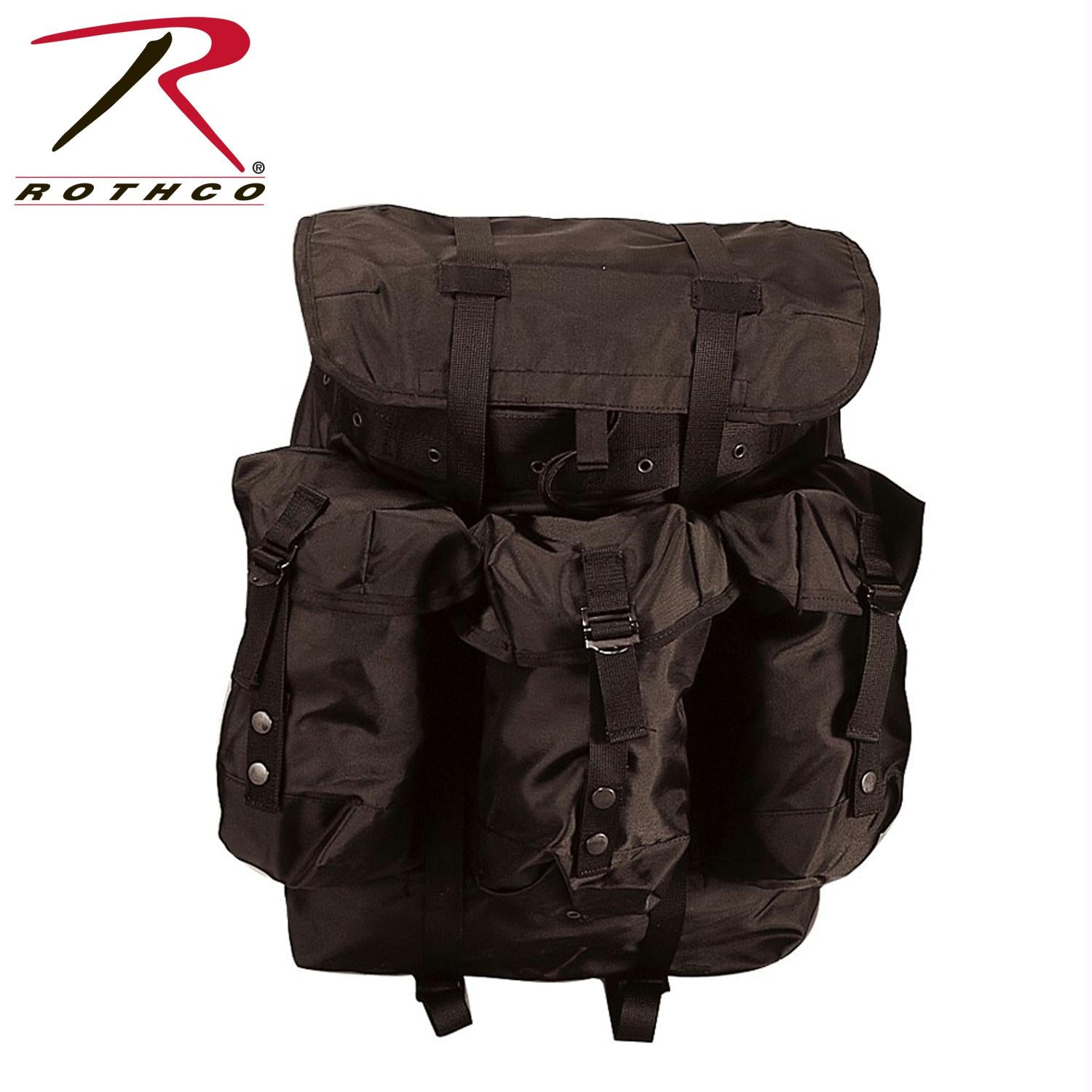 Rothco G.I. Type Large Alice Pack - Black