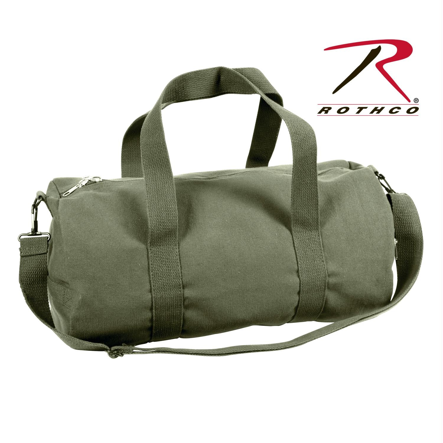 Rothco Canvas Shoulder Duffle Bag - 19 Inch - Olive Drab