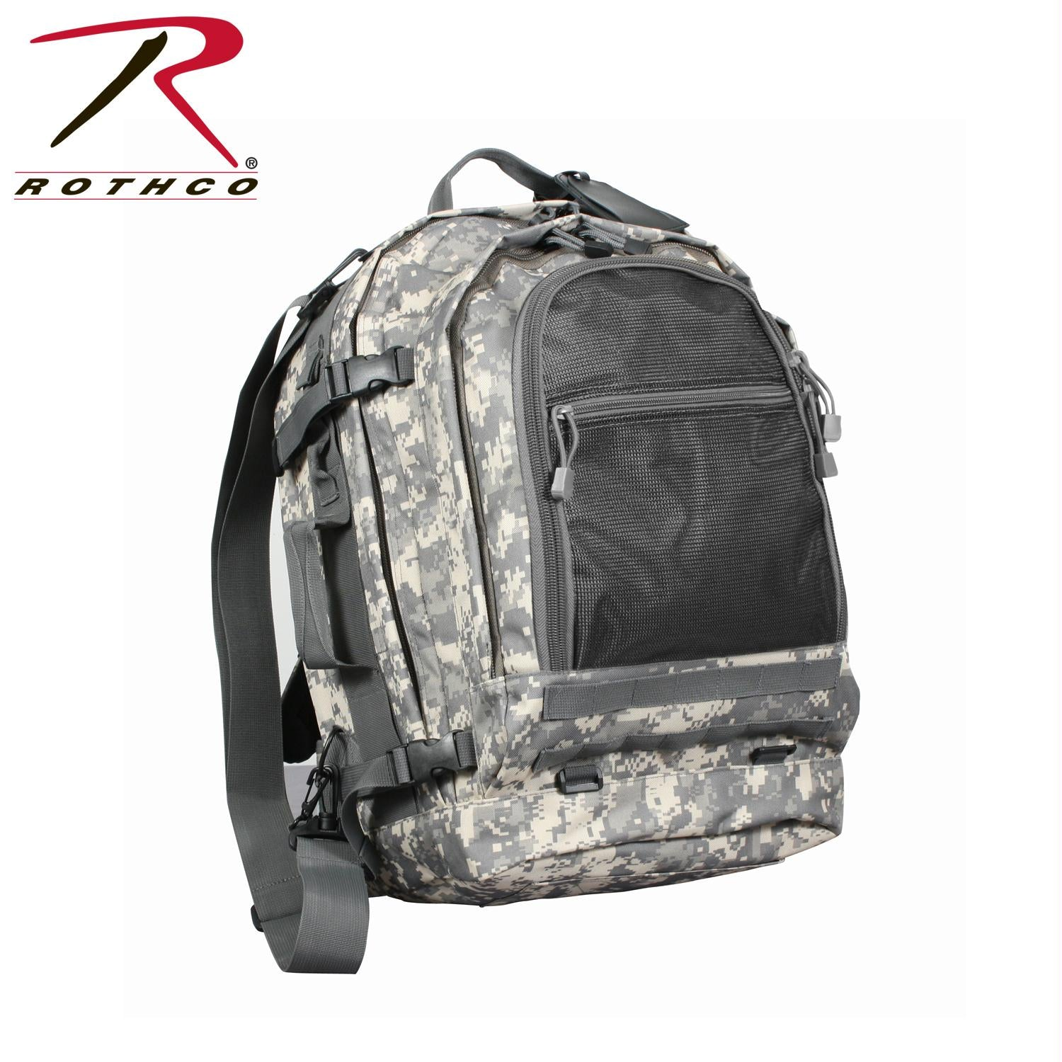 Rothco Move Out Tactical/Travel Backpack - ACU Digital Camo