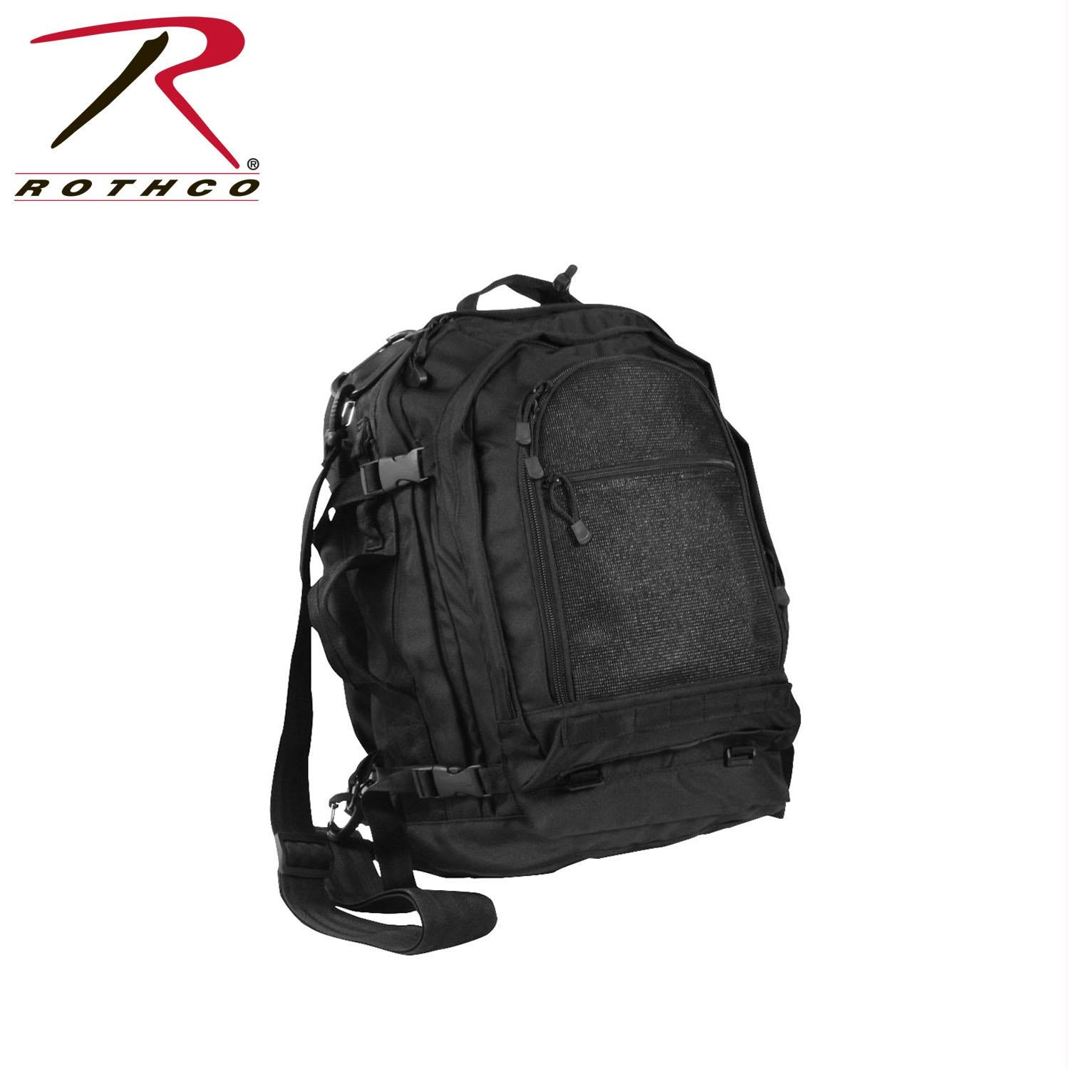 Rothco Move Out Tactical/Travel Backpack - Black