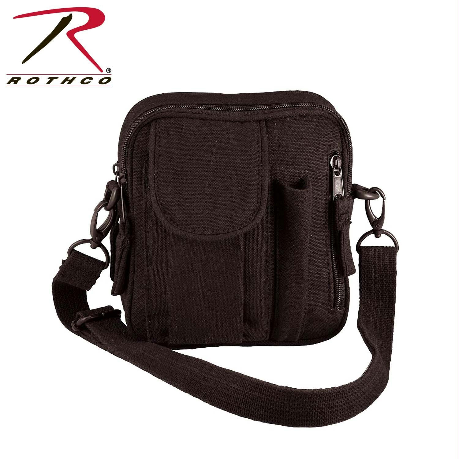 Rothco Canvas Organizer Bag - Black