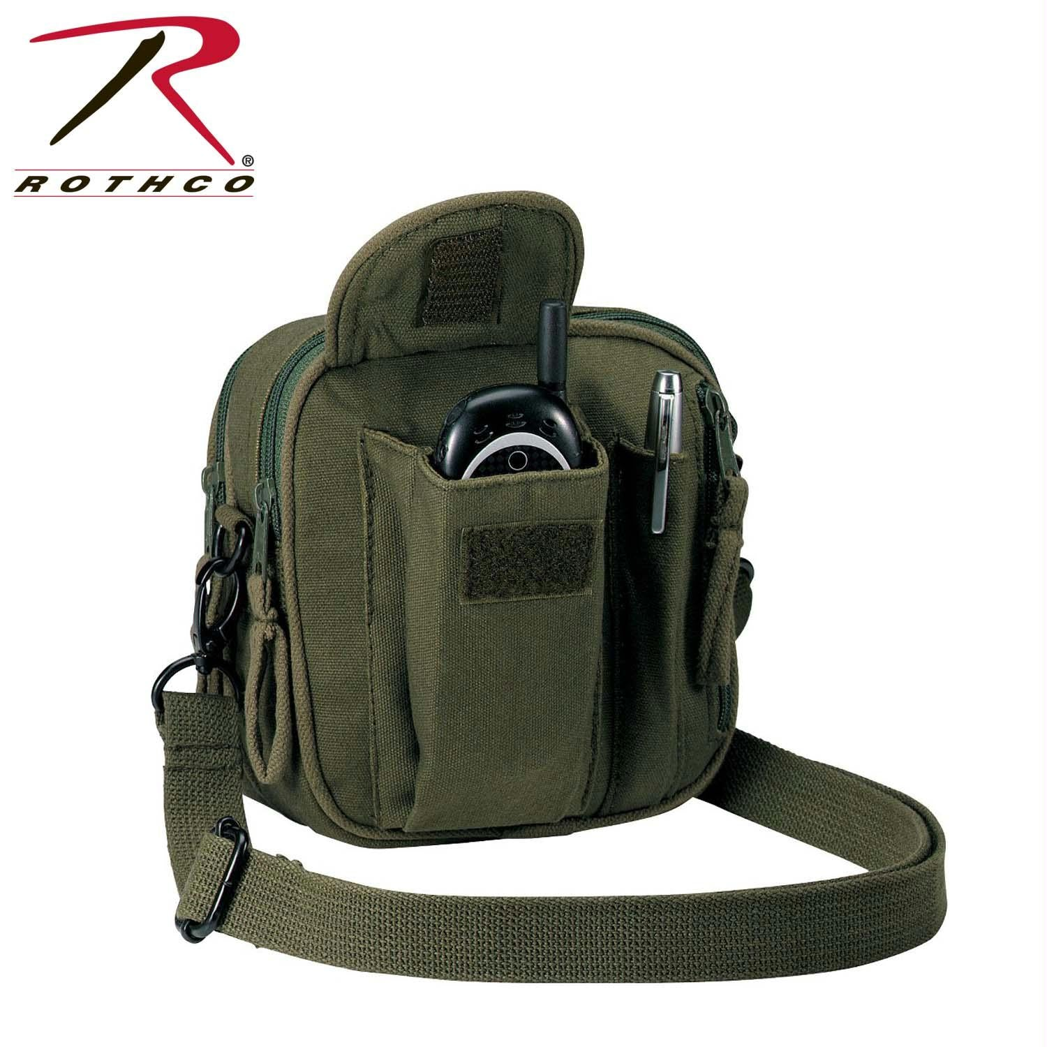 Rothco Canvas Organizer Bag - Olive Drab