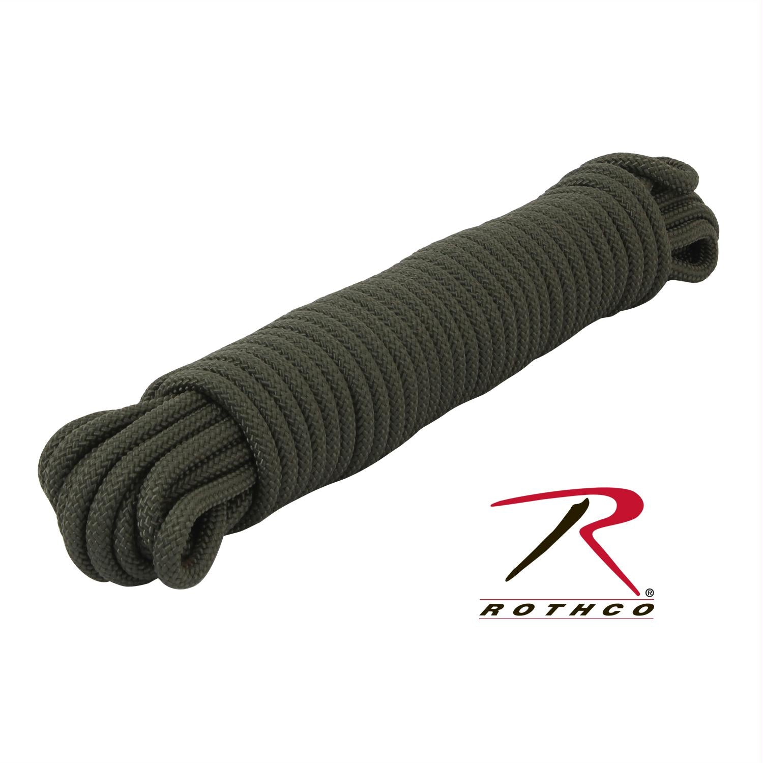 Rothco Utility Rope - Olive Drab / 50'