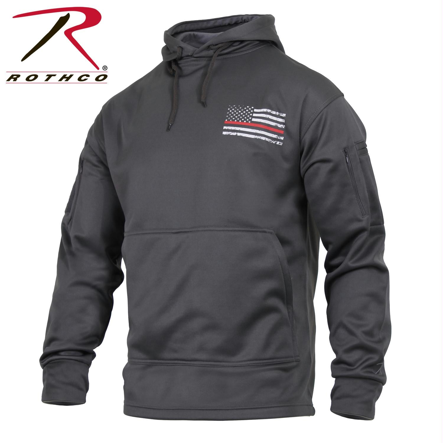 Rothco Thin Red Line Concealed Carry Hoodie