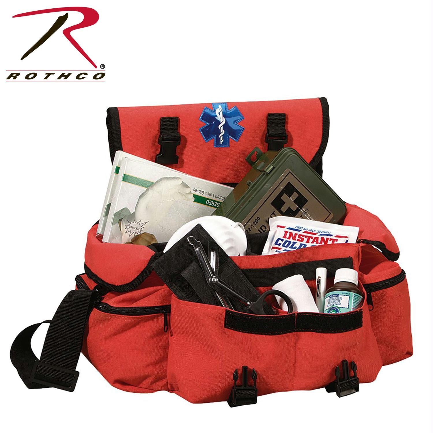 Rothco Medical Rescue Response Bag - Orange