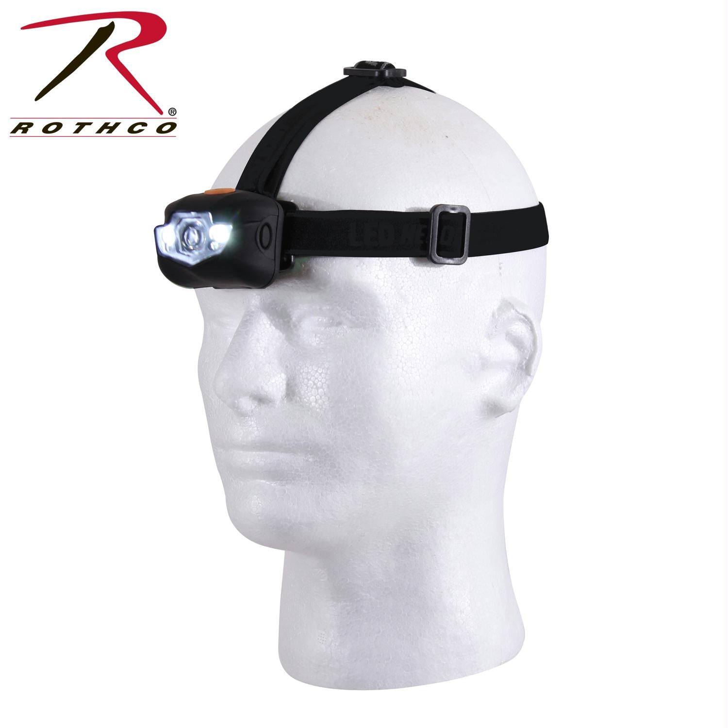 Rothco LED Headlamp - Black