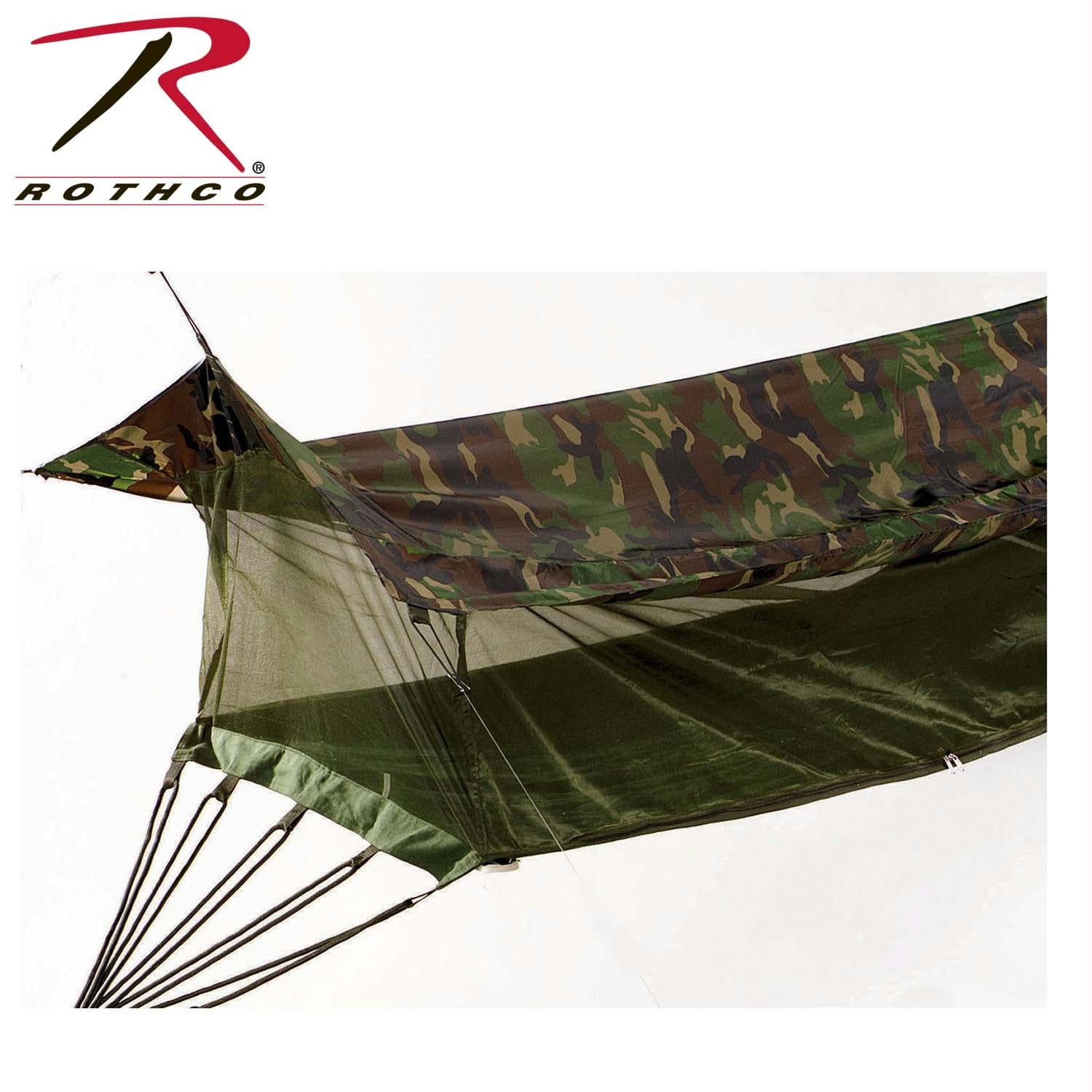 Rothco Jungle Hammock - Woodland Camo