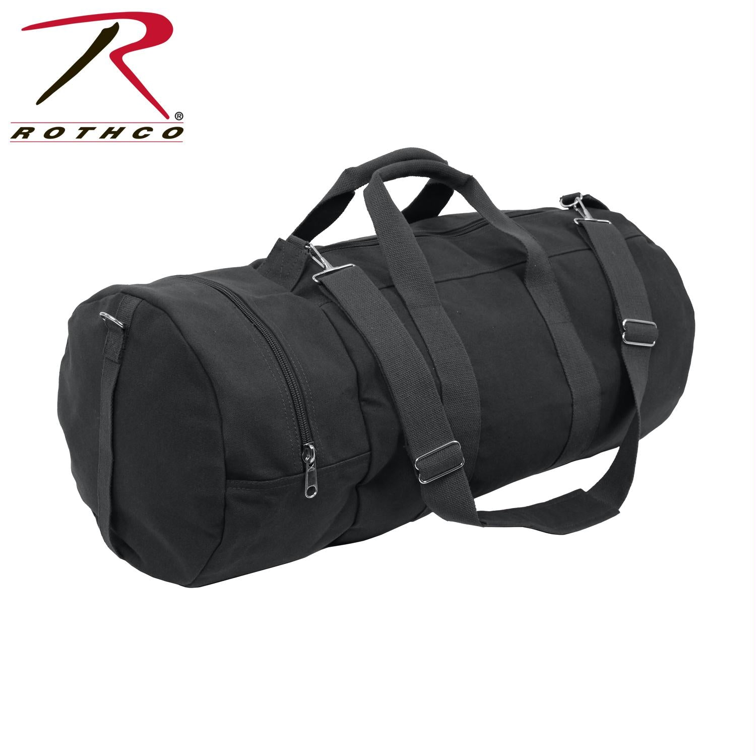 Rothco Canvas Double-Ender Sports Bag - Black