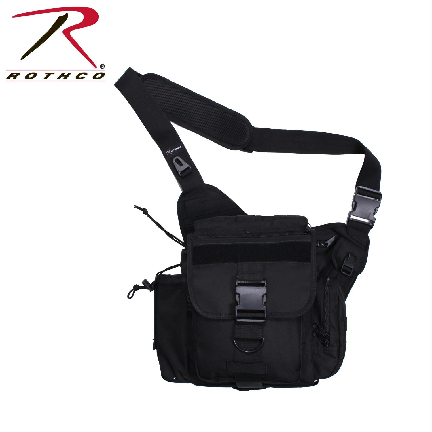 Rothco XL Advanced Tactical Shoulder Bag - Black