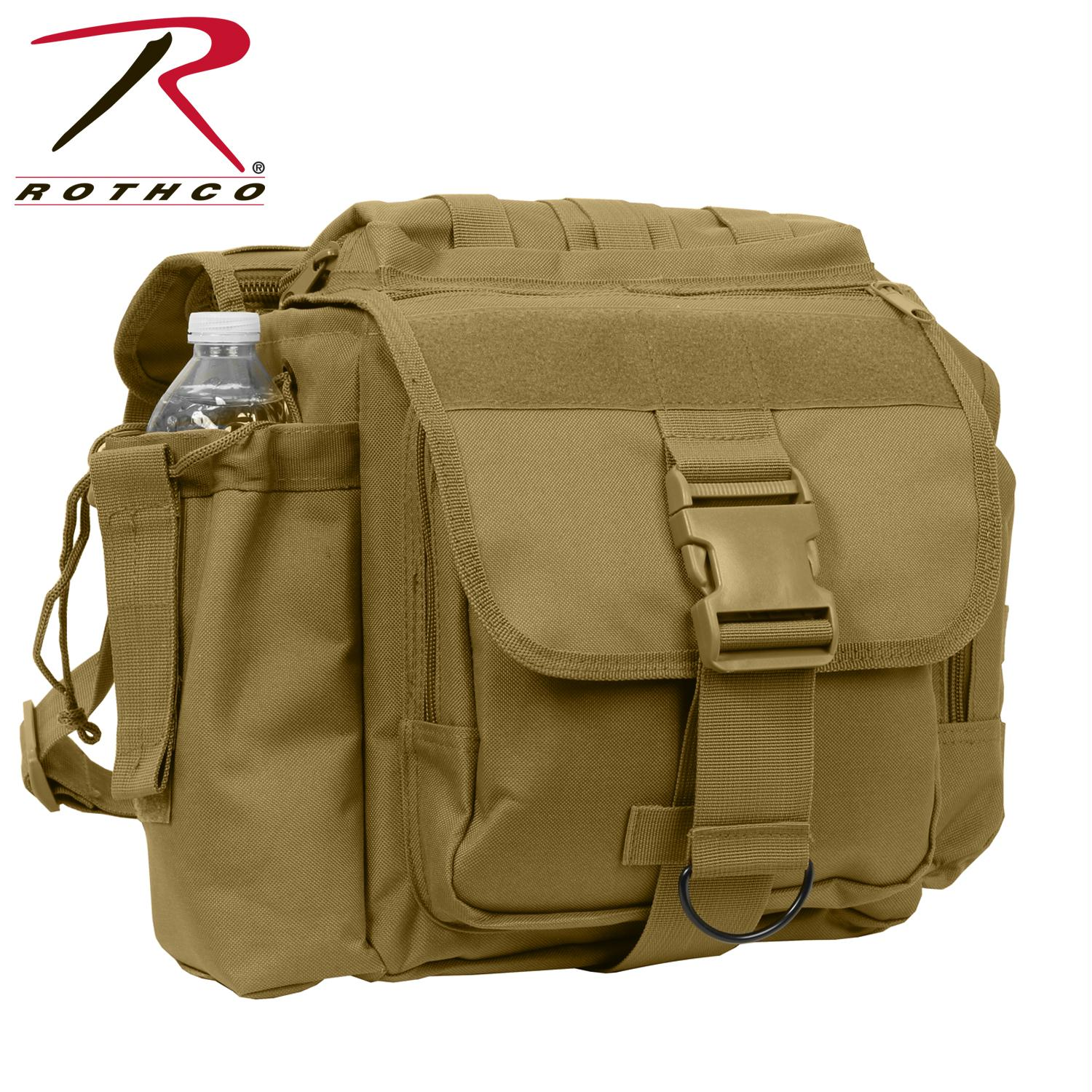 Rothco XL Advanced Tactical Shoulder Bag - Coyote Brown