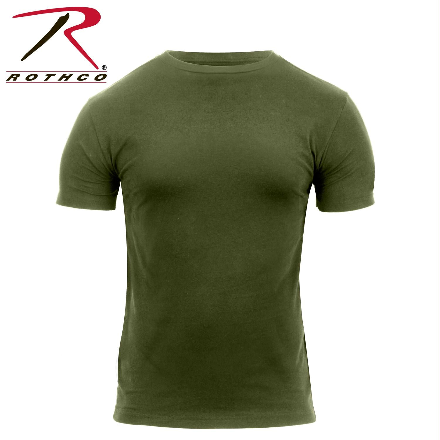 Rothco Quick Dry Moisture Wicking T-shirt - Olive Drab / S