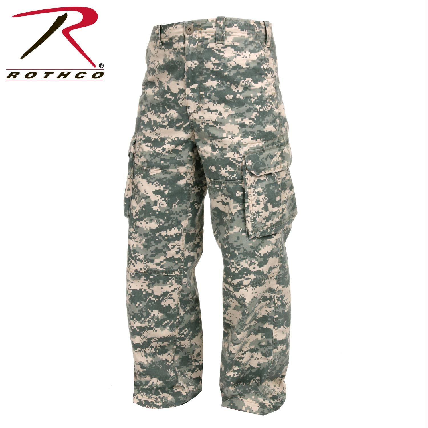 Rothco Kids Vintage Paratrooper Fatigue - ACU Digital Camo / S
