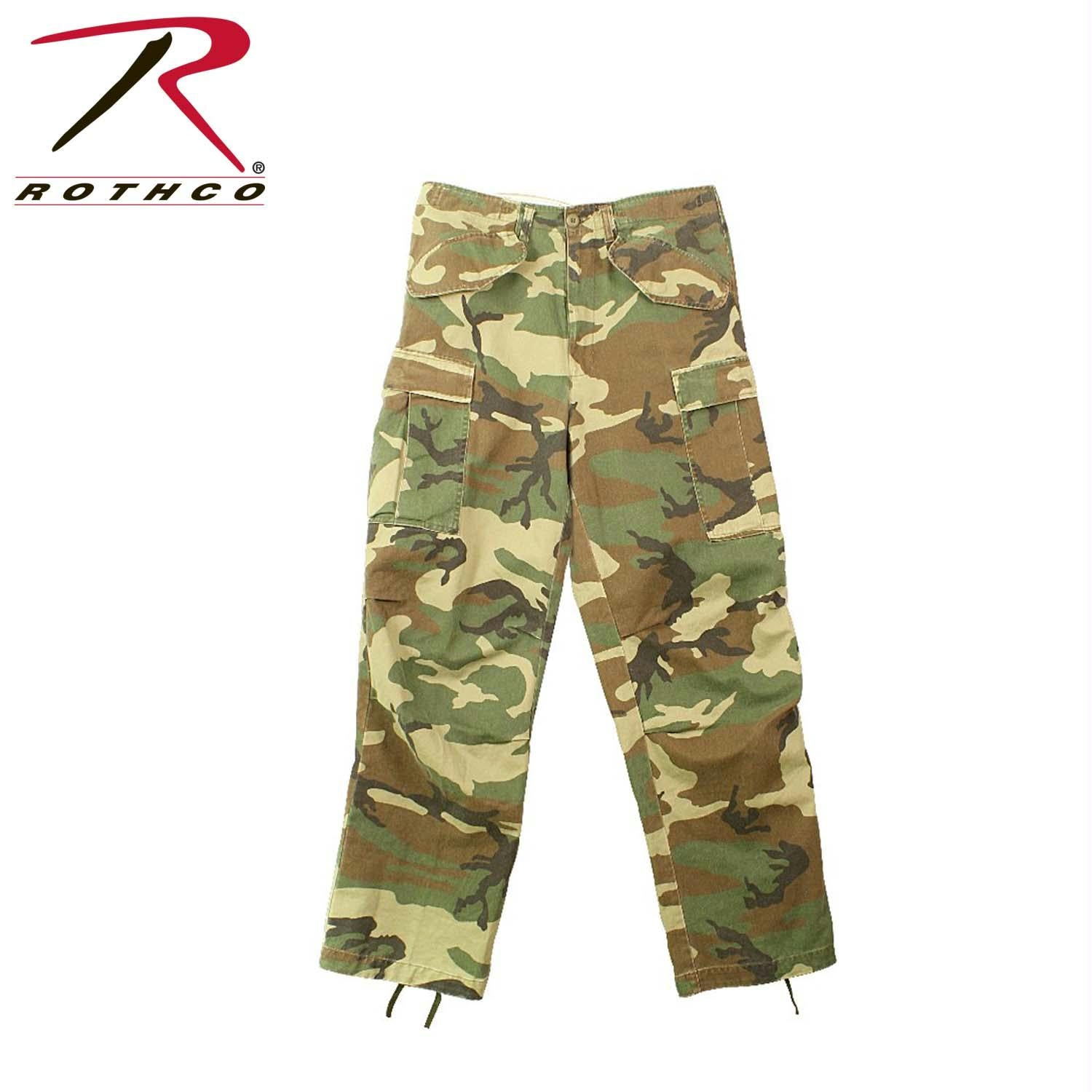 Rothco Vintage M-65 Field Pant - Woodland Camo / 3XL