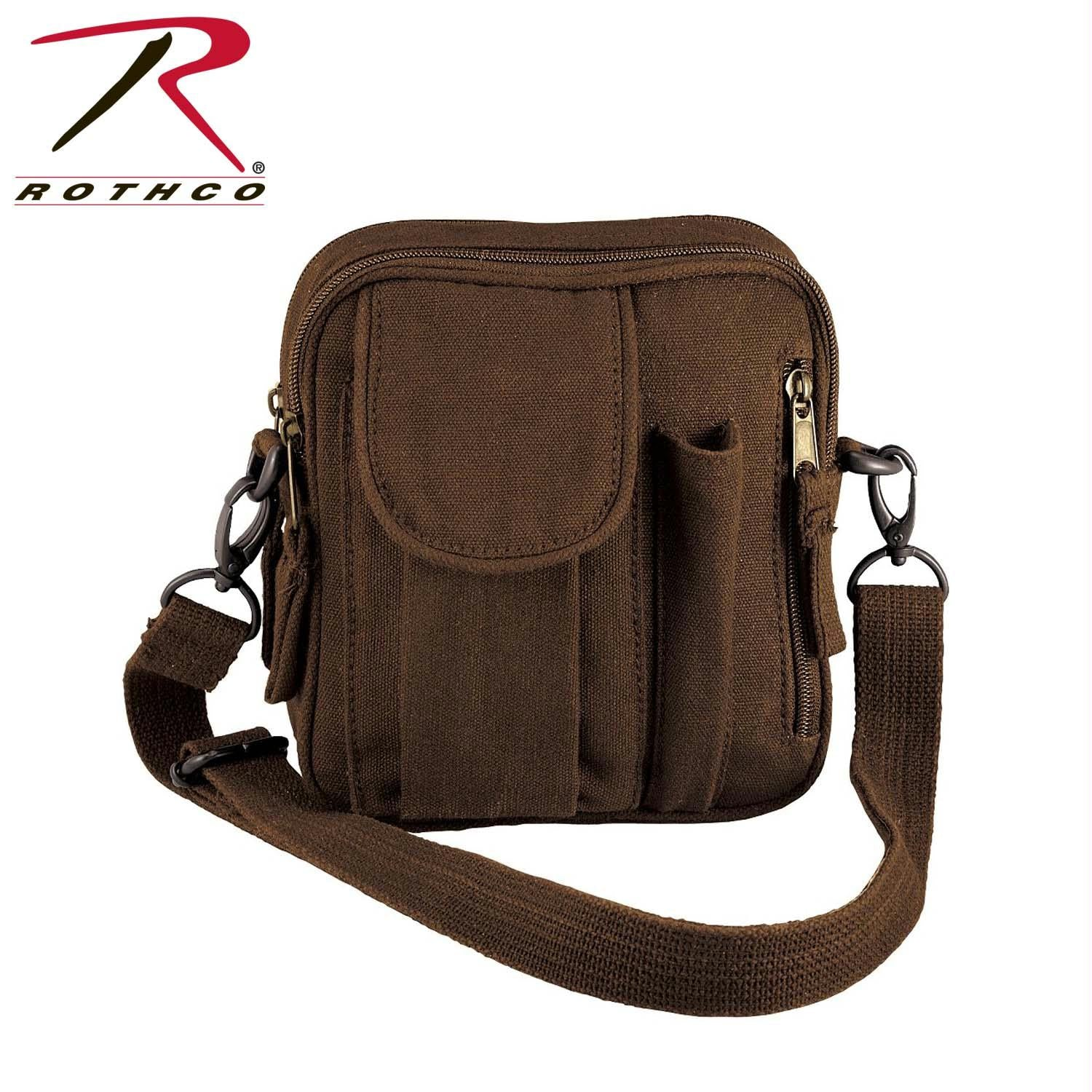 Rothco Canvas Organizer Bag - Brown