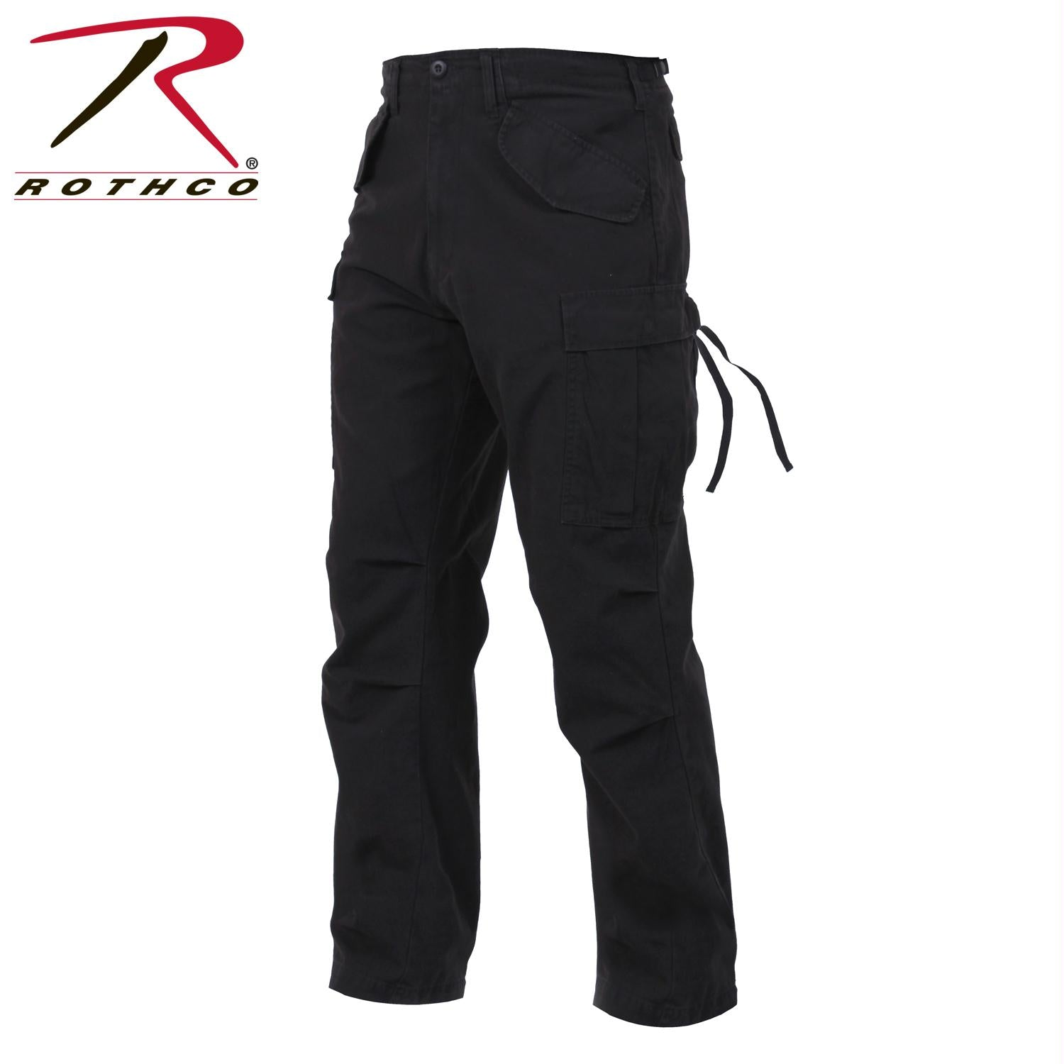 Rothco Vintage M-65 Field Pant - Black / S