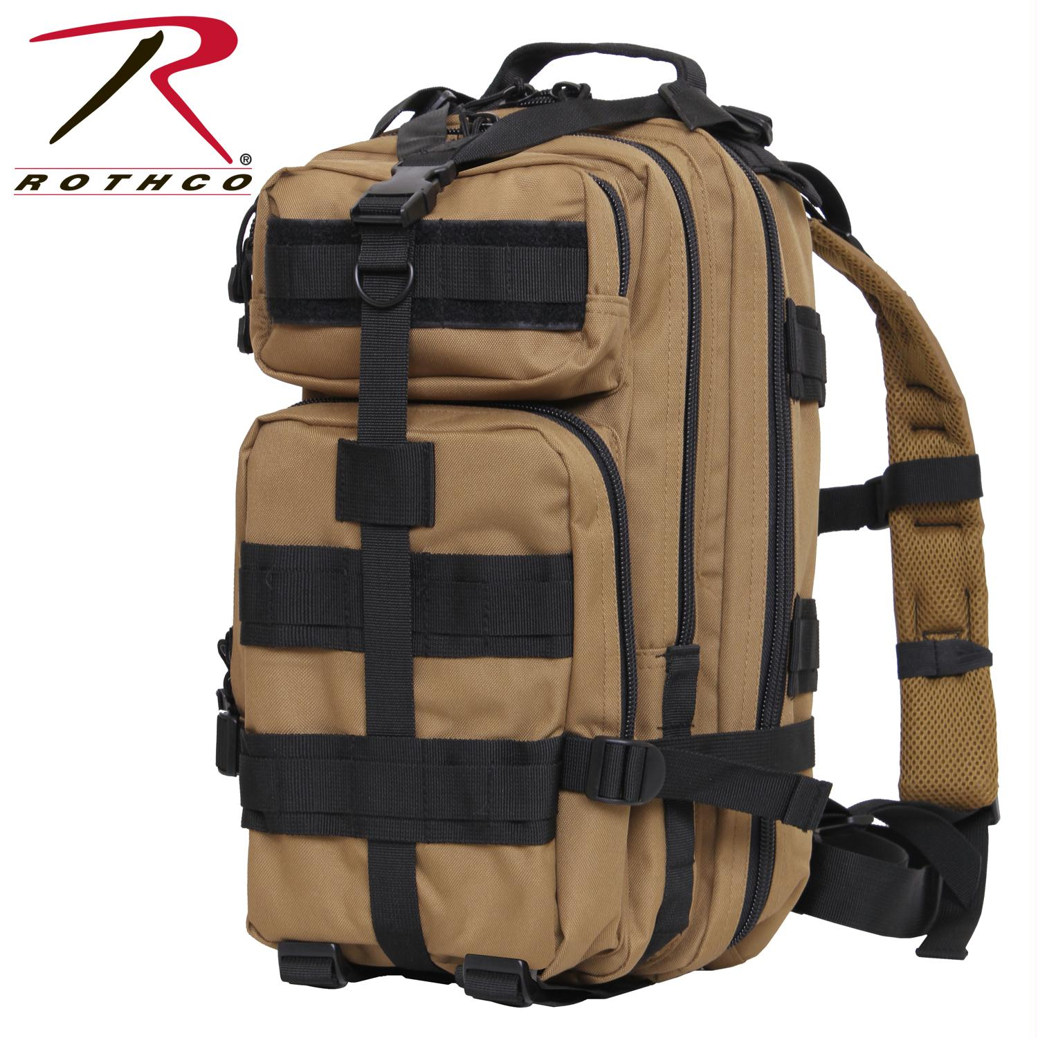 Rothco Medium Transport Pack - Coyote Brown/Black