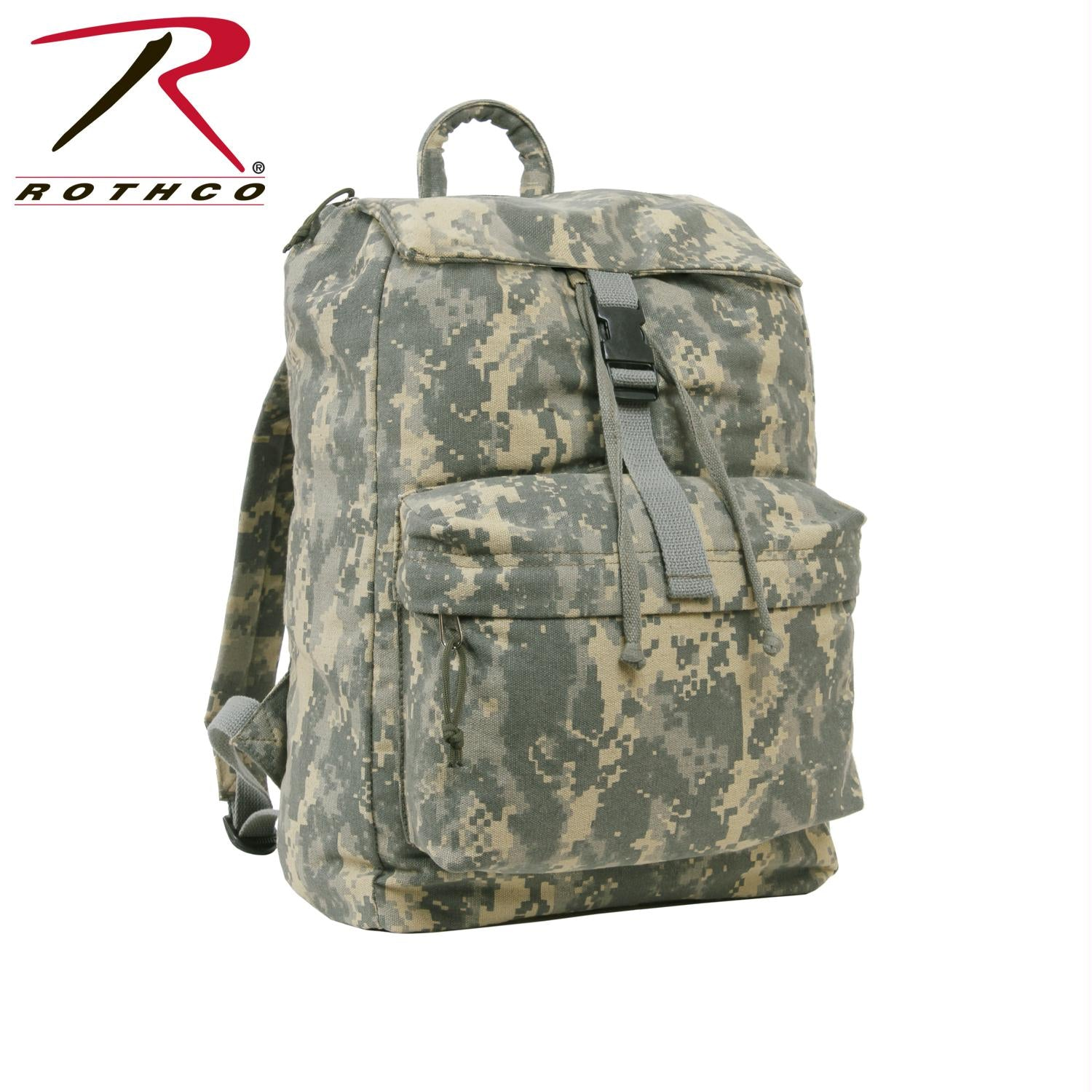 Rothco Canvas Daypack - ACU Digital Camo