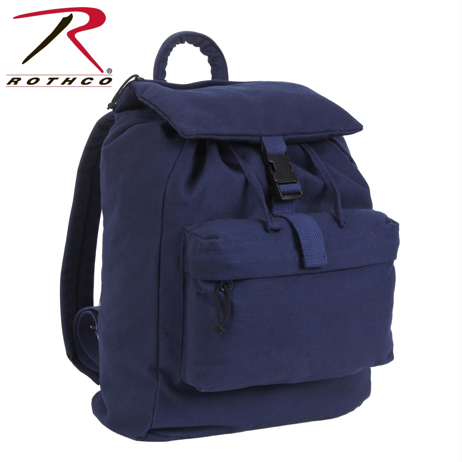 Rothco Canvas Daypack - Navy Blue