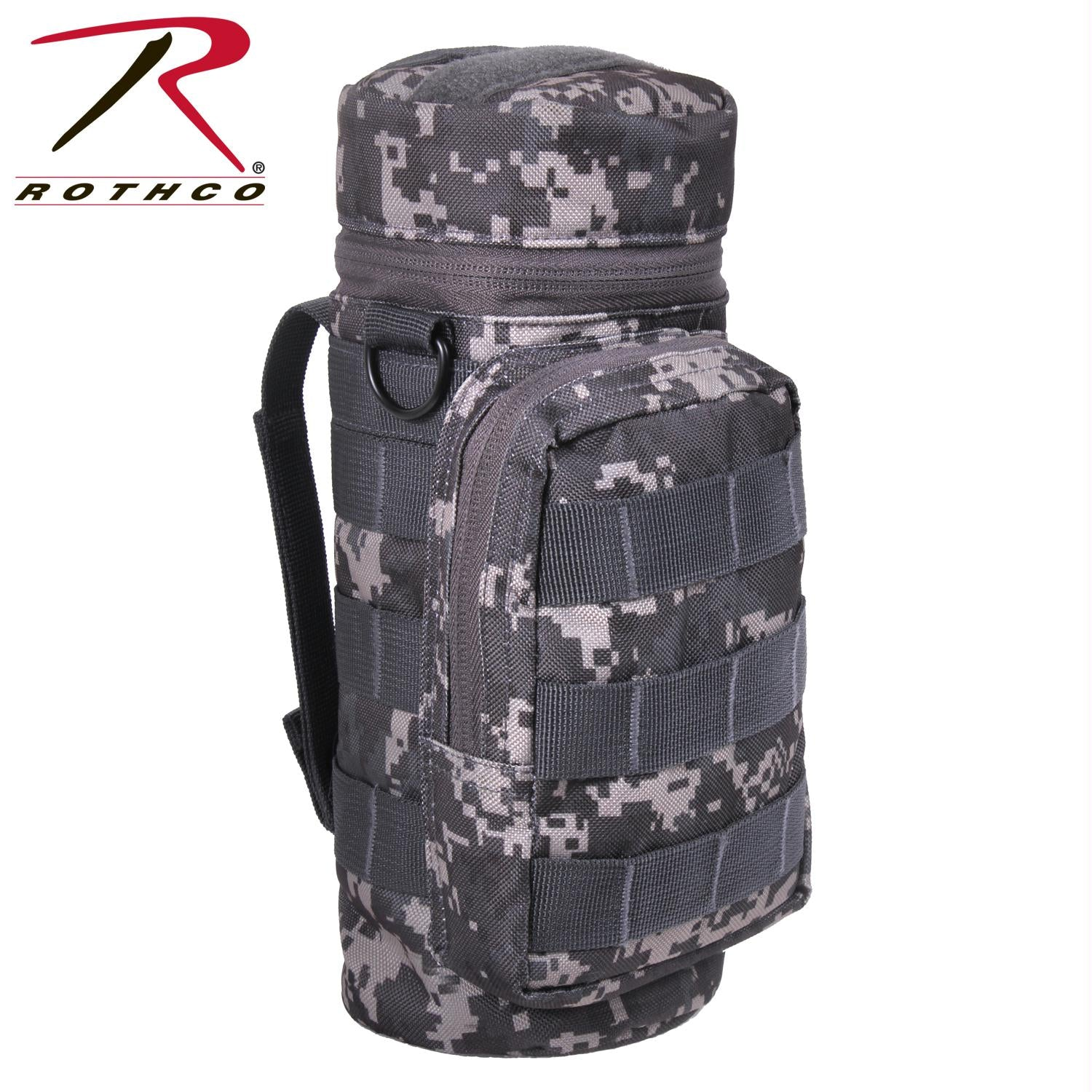 Rothco MOLLE Compatible Water Bottle Pouch - Subdued Urban Digital Camo