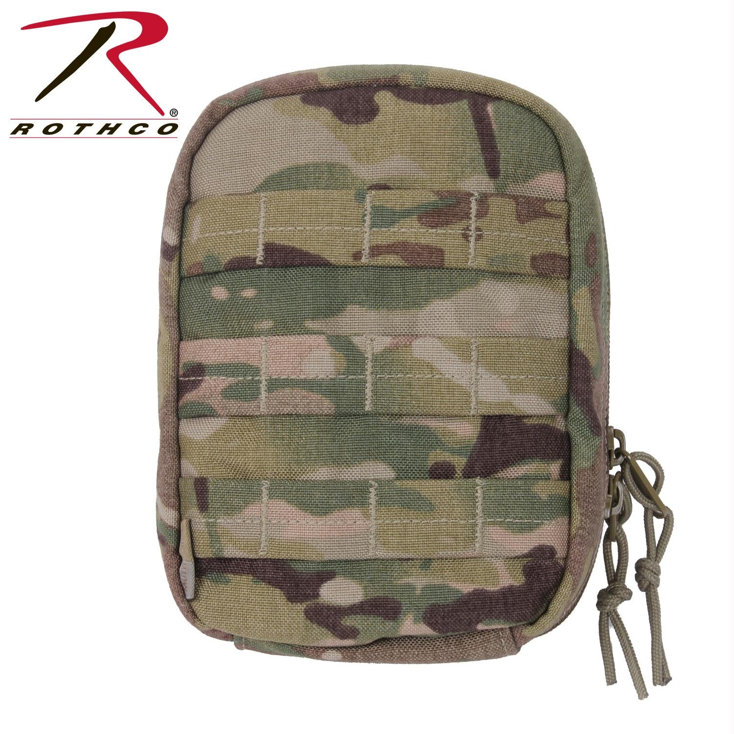 Rothco MOLLE Tactical Trauma & First Aid Kit Pouch - MultiCam