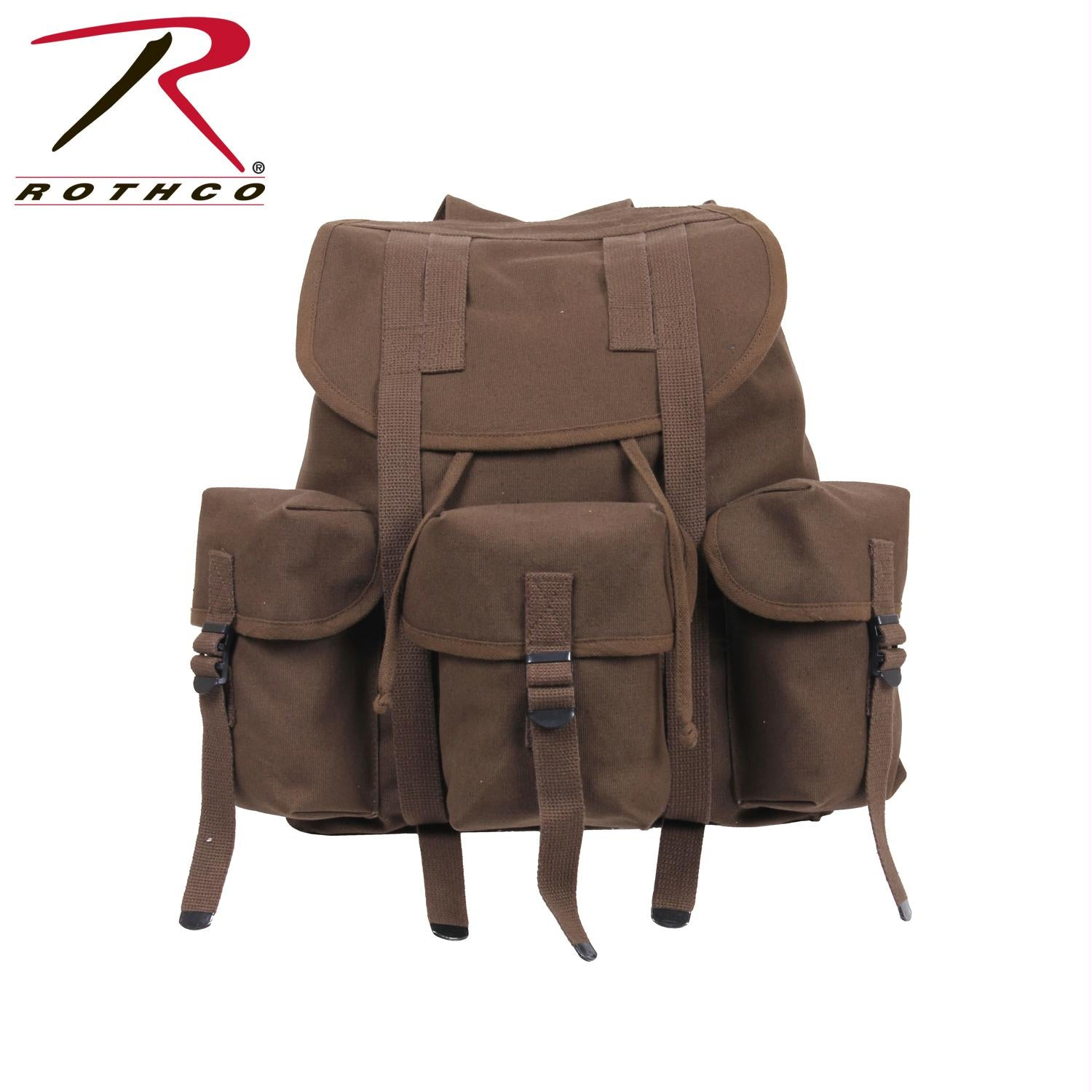 Rothco G.I. Type Heavyweight Mini Alice Pack - Earth Brown
