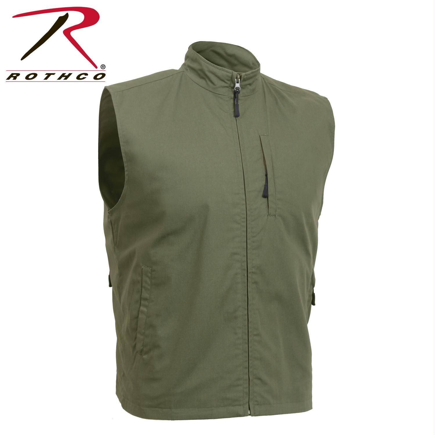 Rothco Undercover Travel Vest - Olive Drab / 3XL