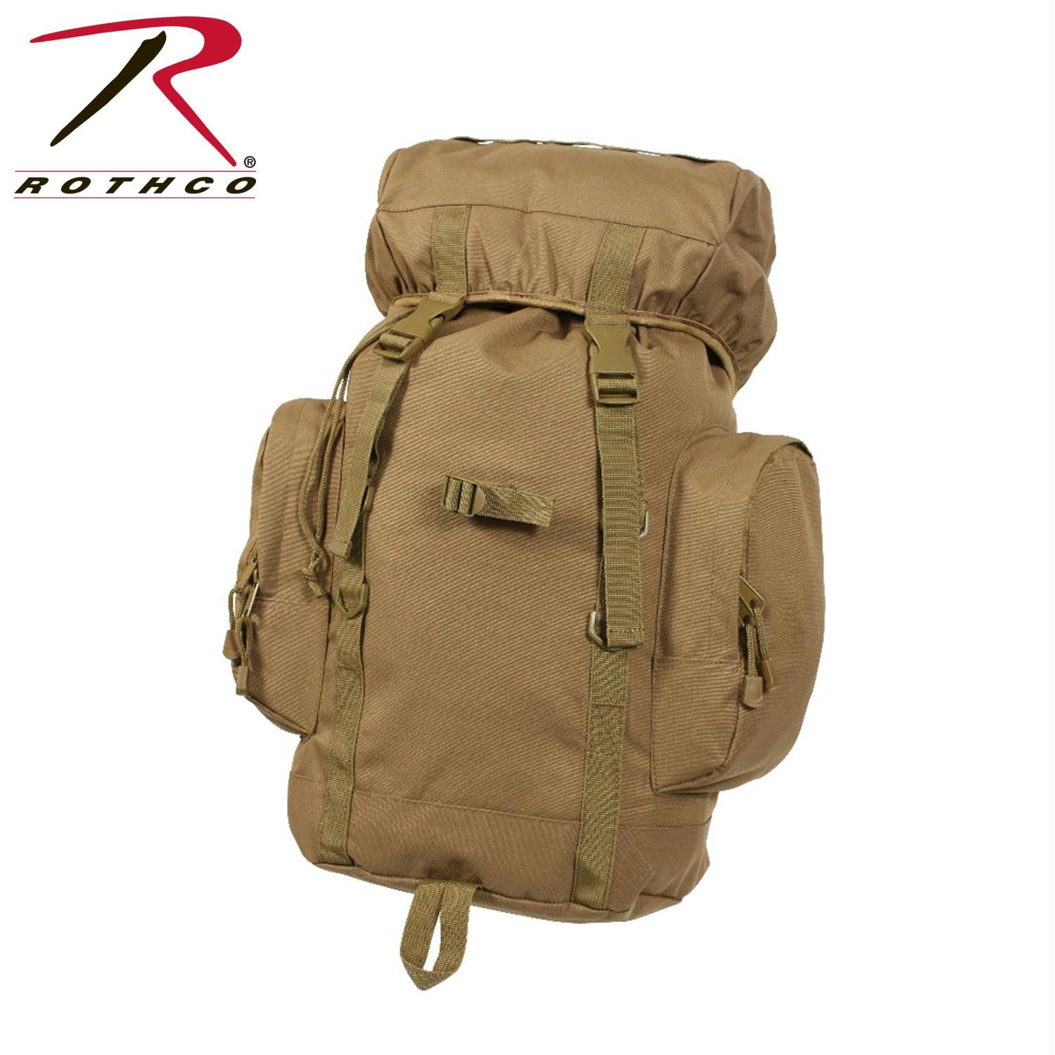 Rothco 25L Tactical Backpack - Coyote Brown