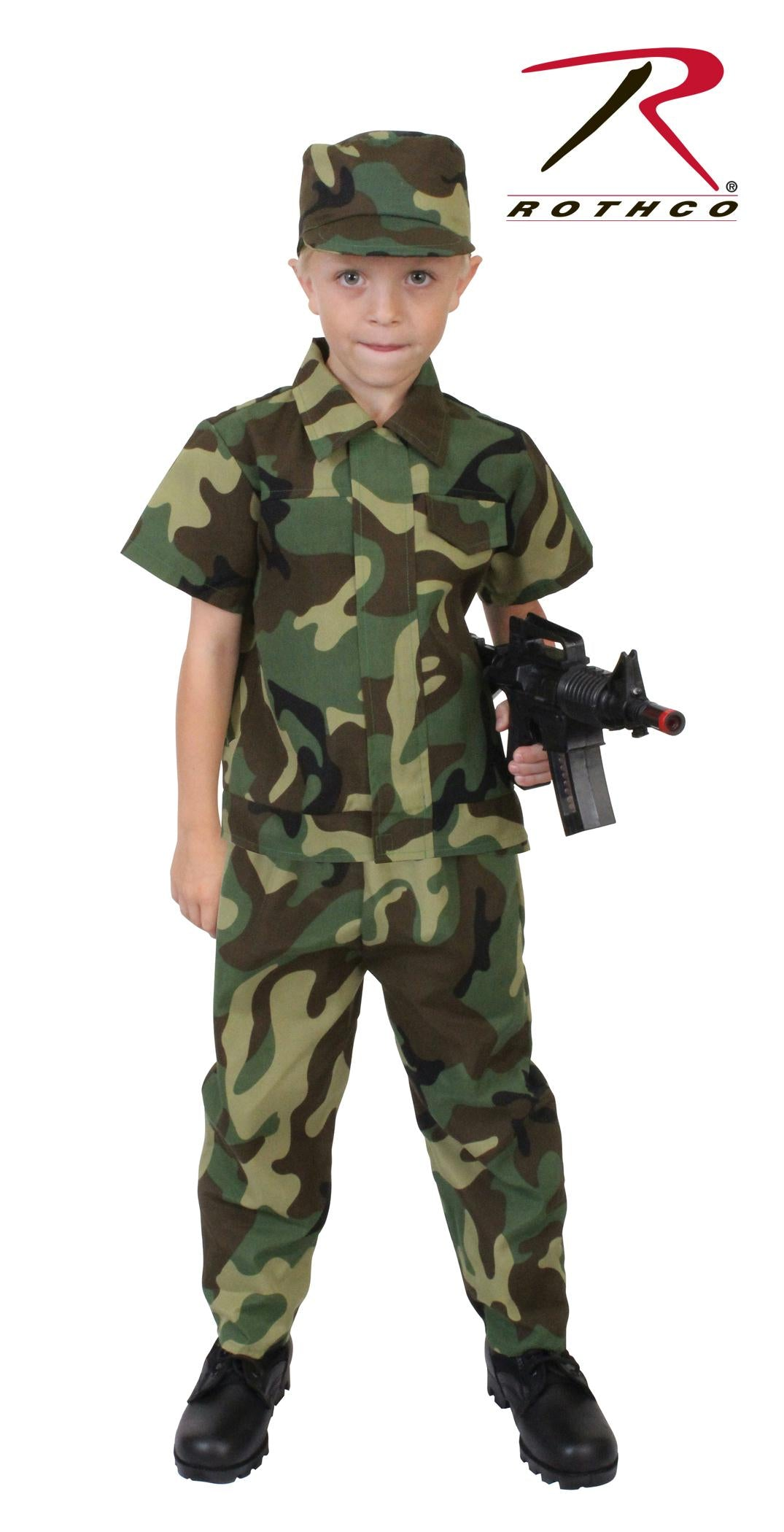 Rothco Kids Camouflage Soldier Costume - 3 - 5 Years