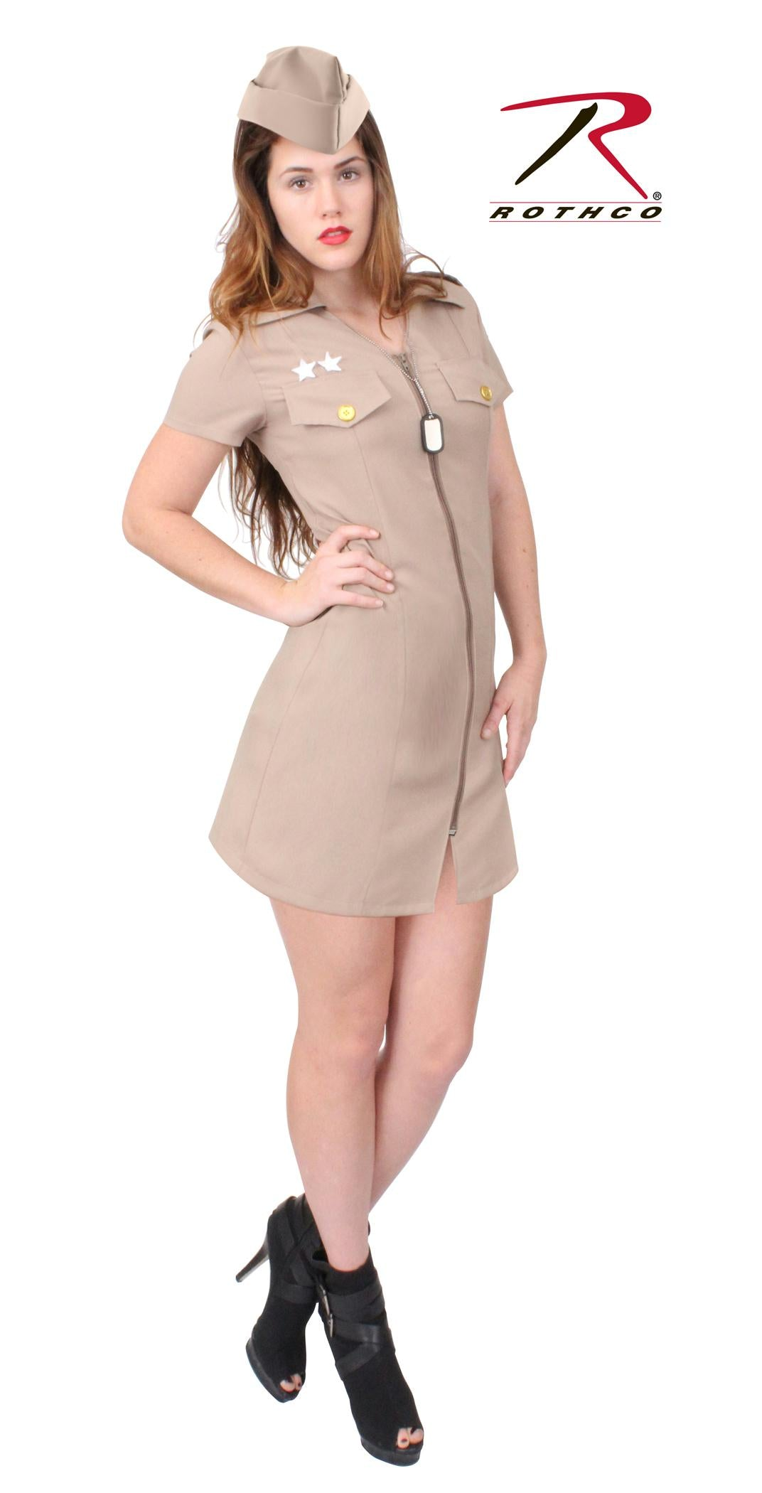 Rothco Women's Khaki Military Costume