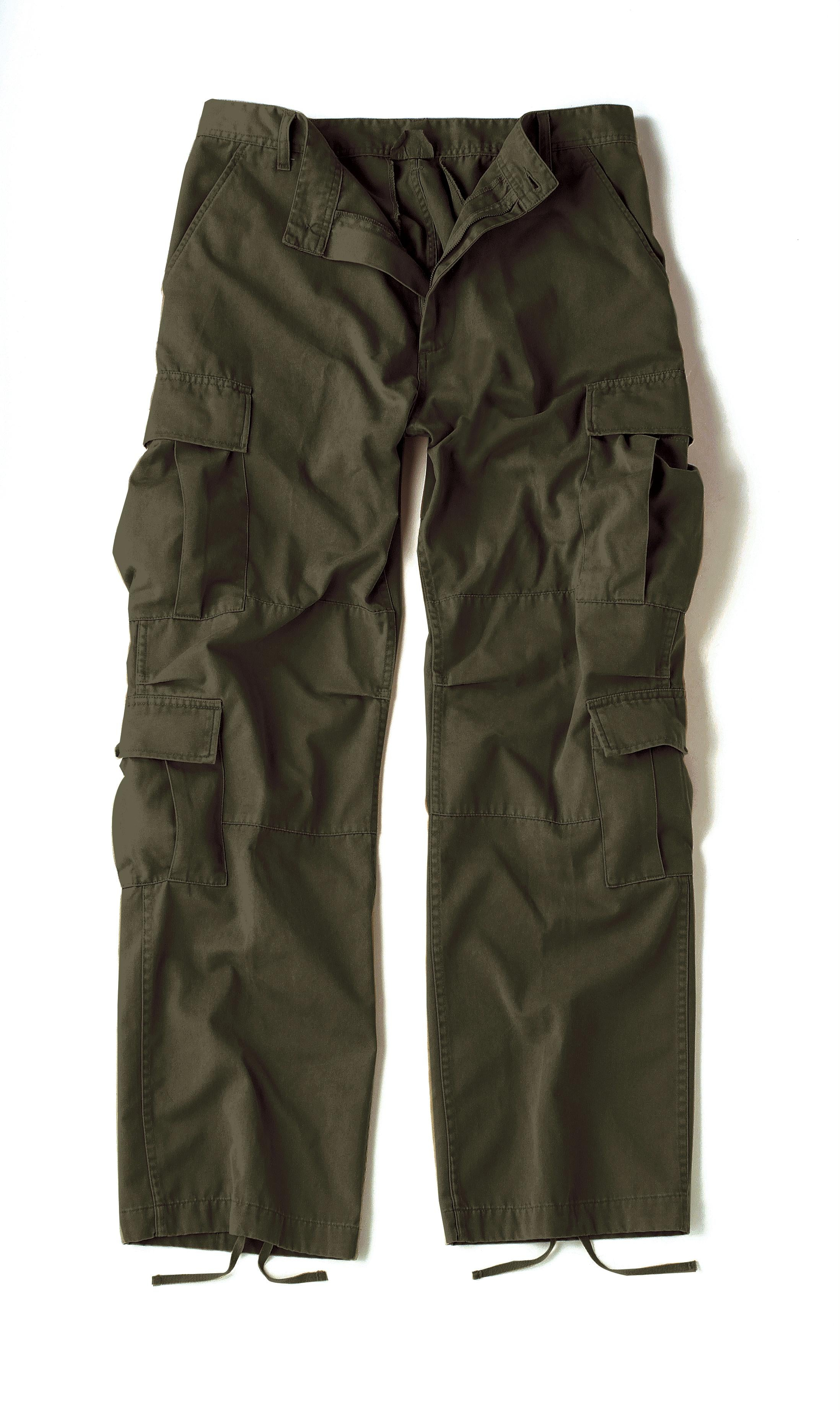 Rothco Vintage Paratrooper Fatigue Pants - Olive Drab / 4XL