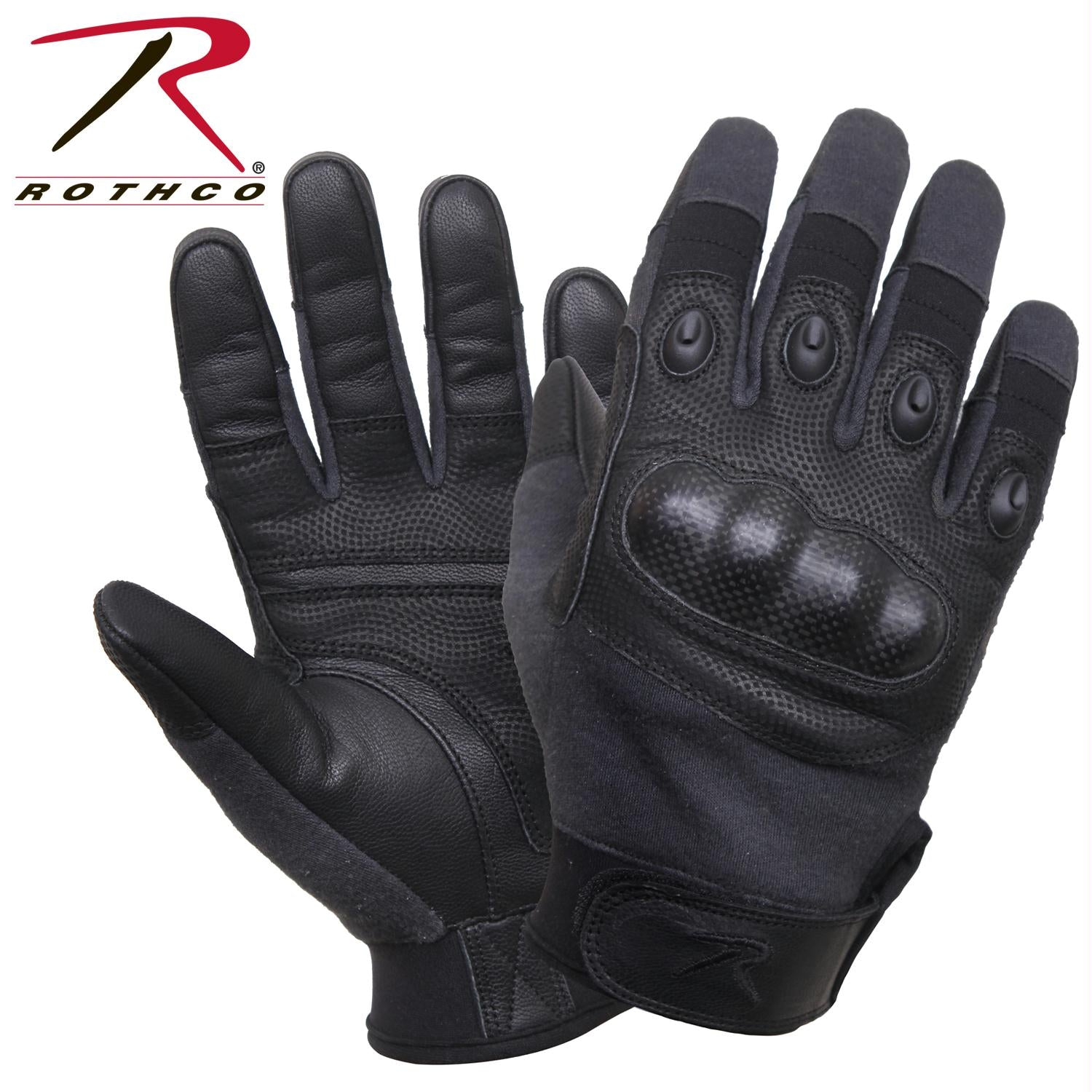 Rothco's Carbon Fiber Hard Knuckle Cut/Fire Resistant Gloves - 2XL