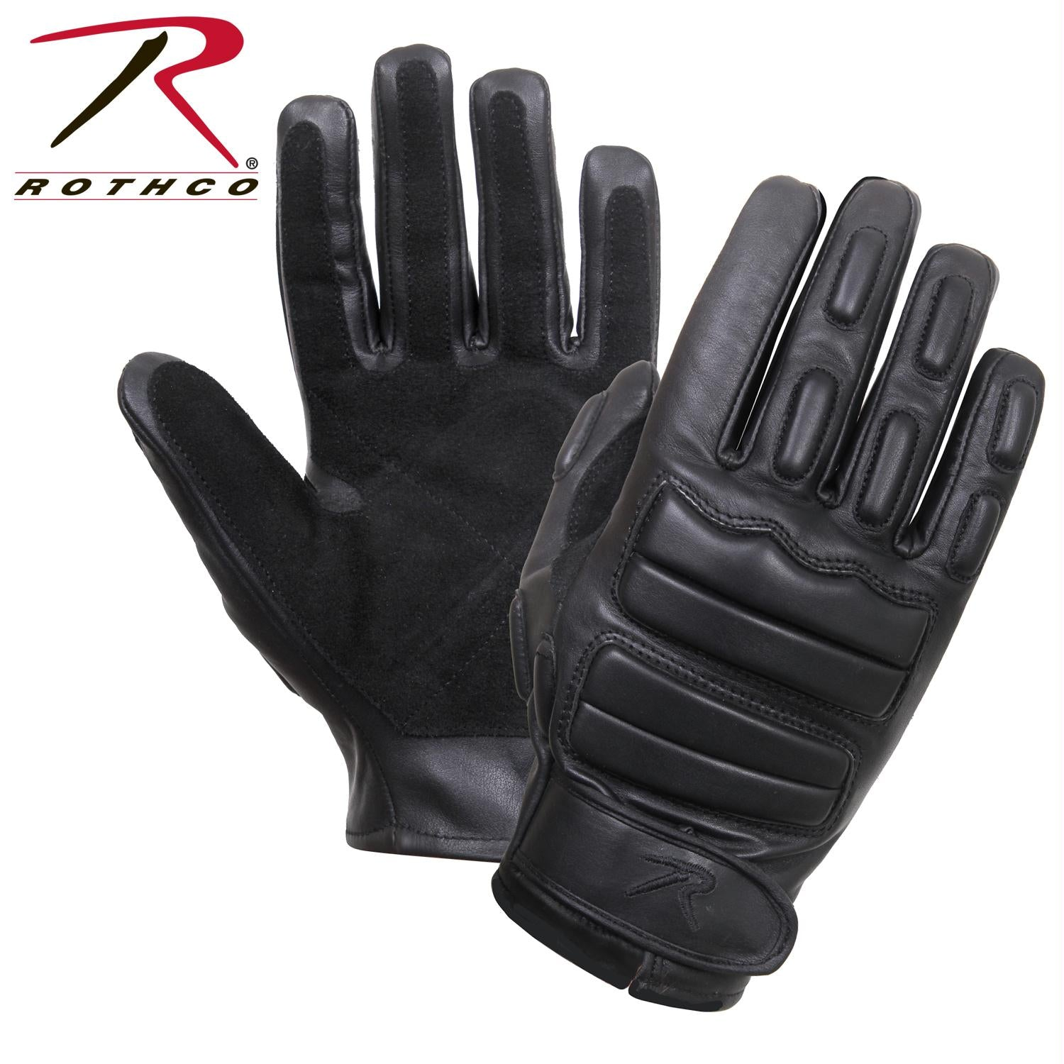 Rothco Padded Tactical Gloves - Black / S