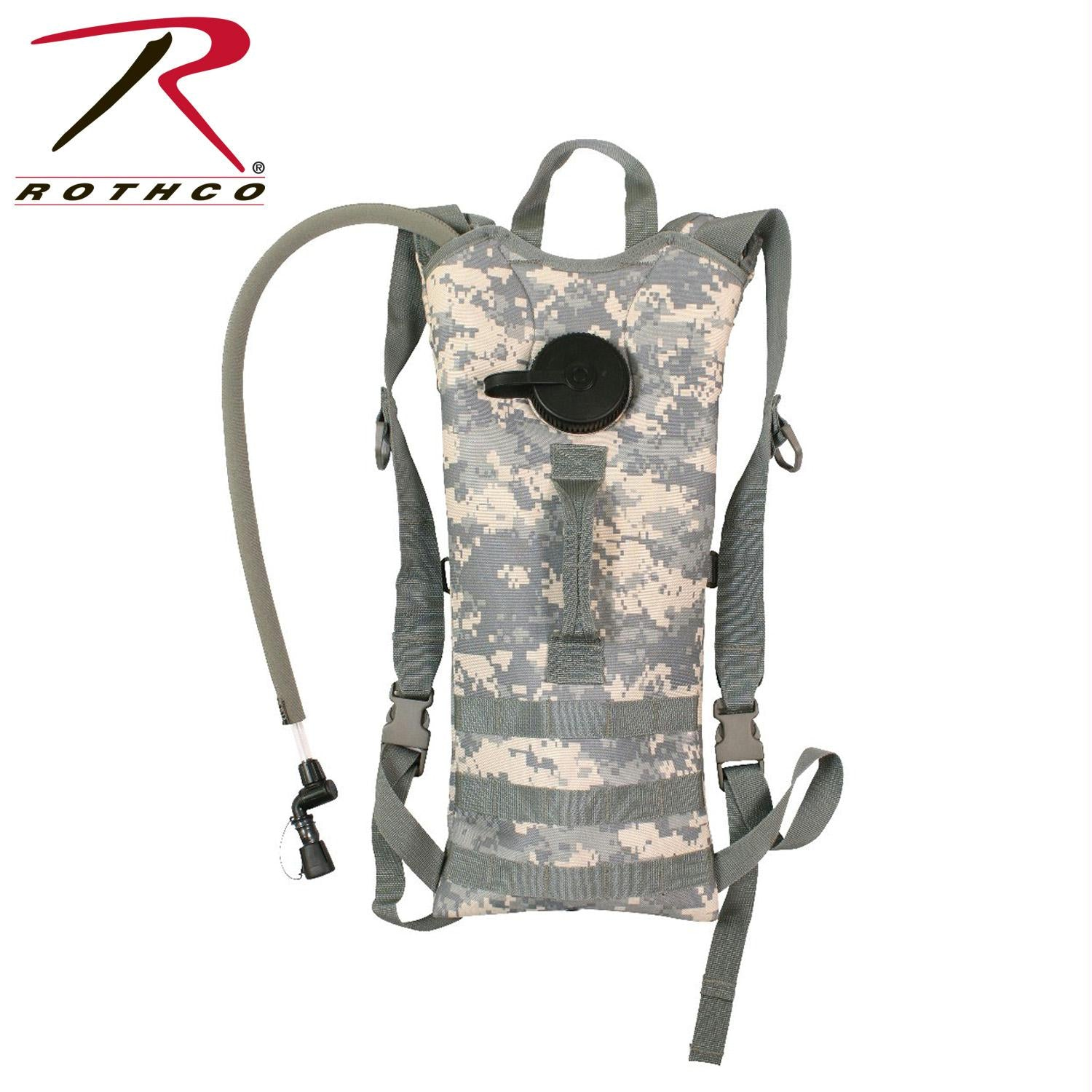 Rothco MOLLE 3 Liter Backstrap Hydration System - ACU Digital Camo