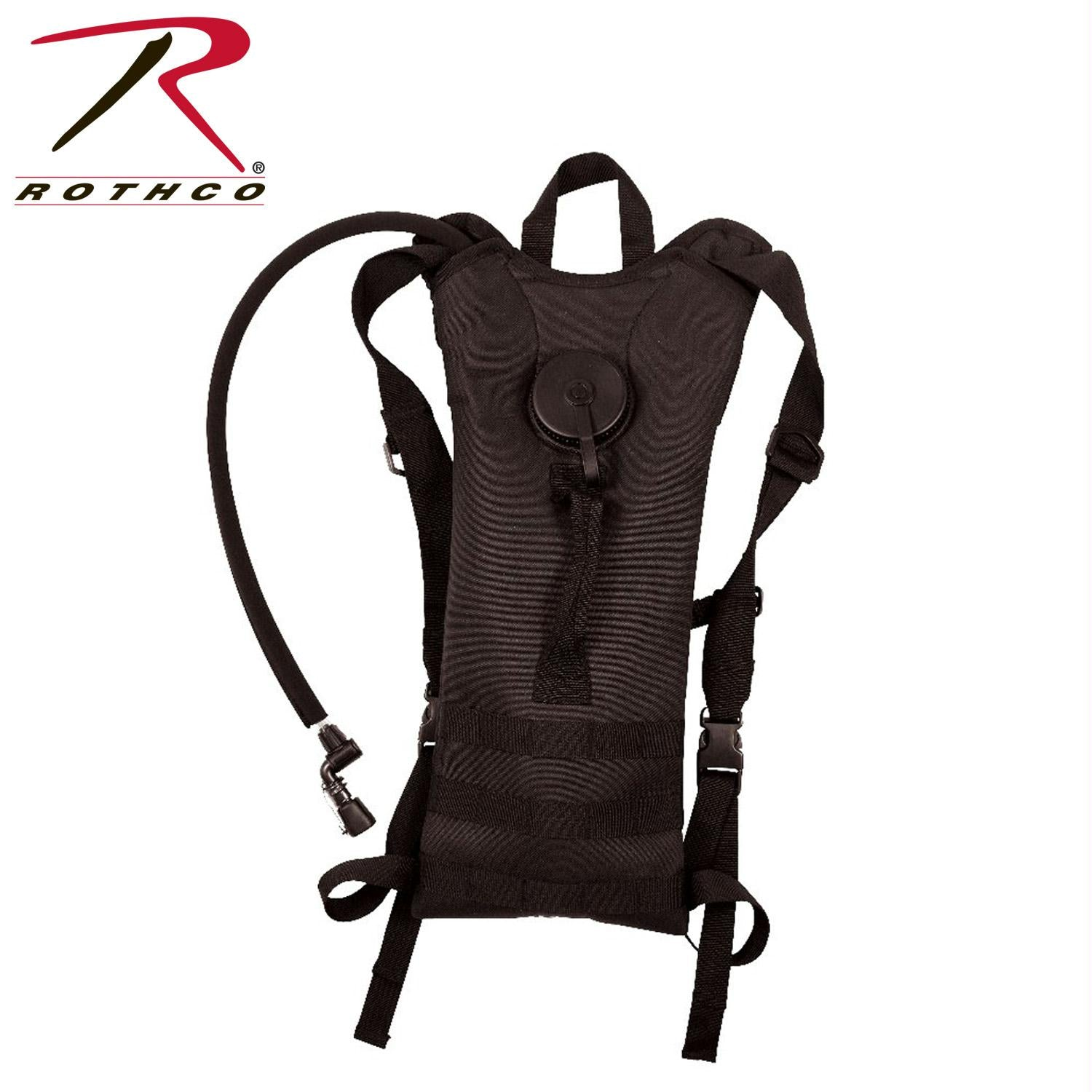 Rothco MOLLE 3 Liter Backstrap Hydration System - Black