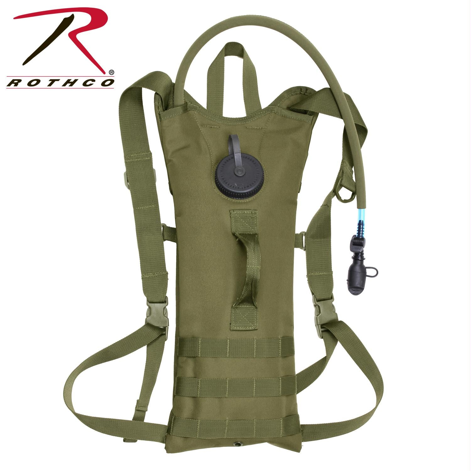 Rothco MOLLE 3 Liter Backstrap Hydration System - Olive Drab
