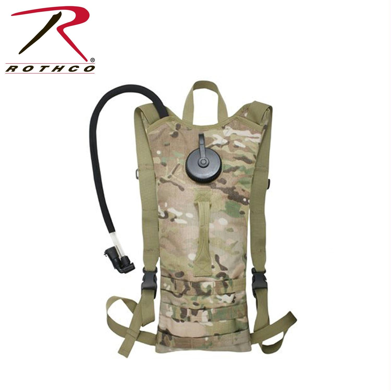 Rothco MOLLE 3 Liter Backstrap Hydration System - MultiCam