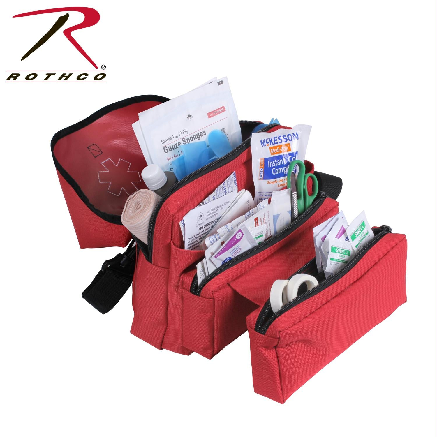 Rothco EMS Medical Field Kit - Red