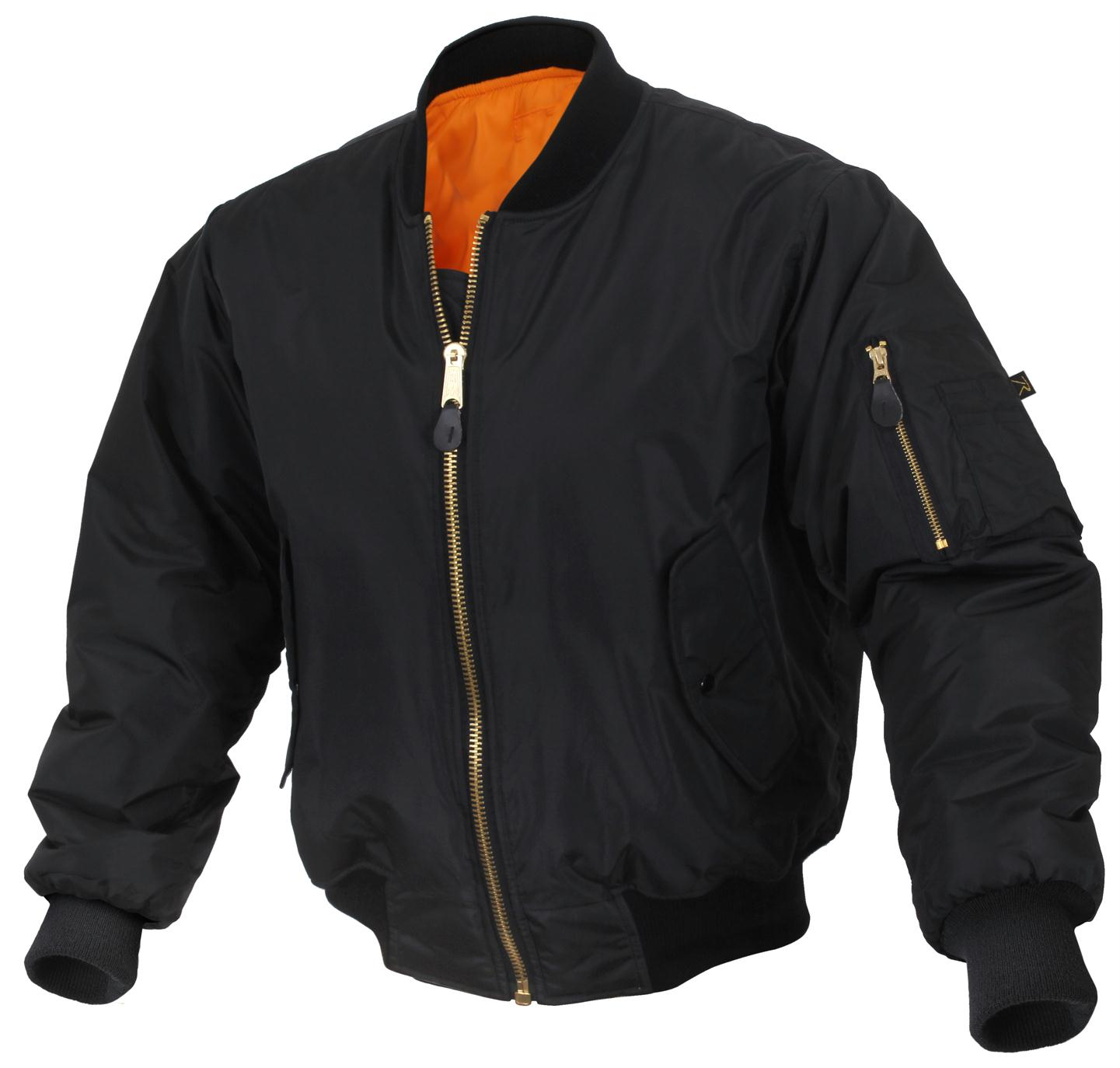 Rothco Enhanced Nylon MA-1 Flight Jacket