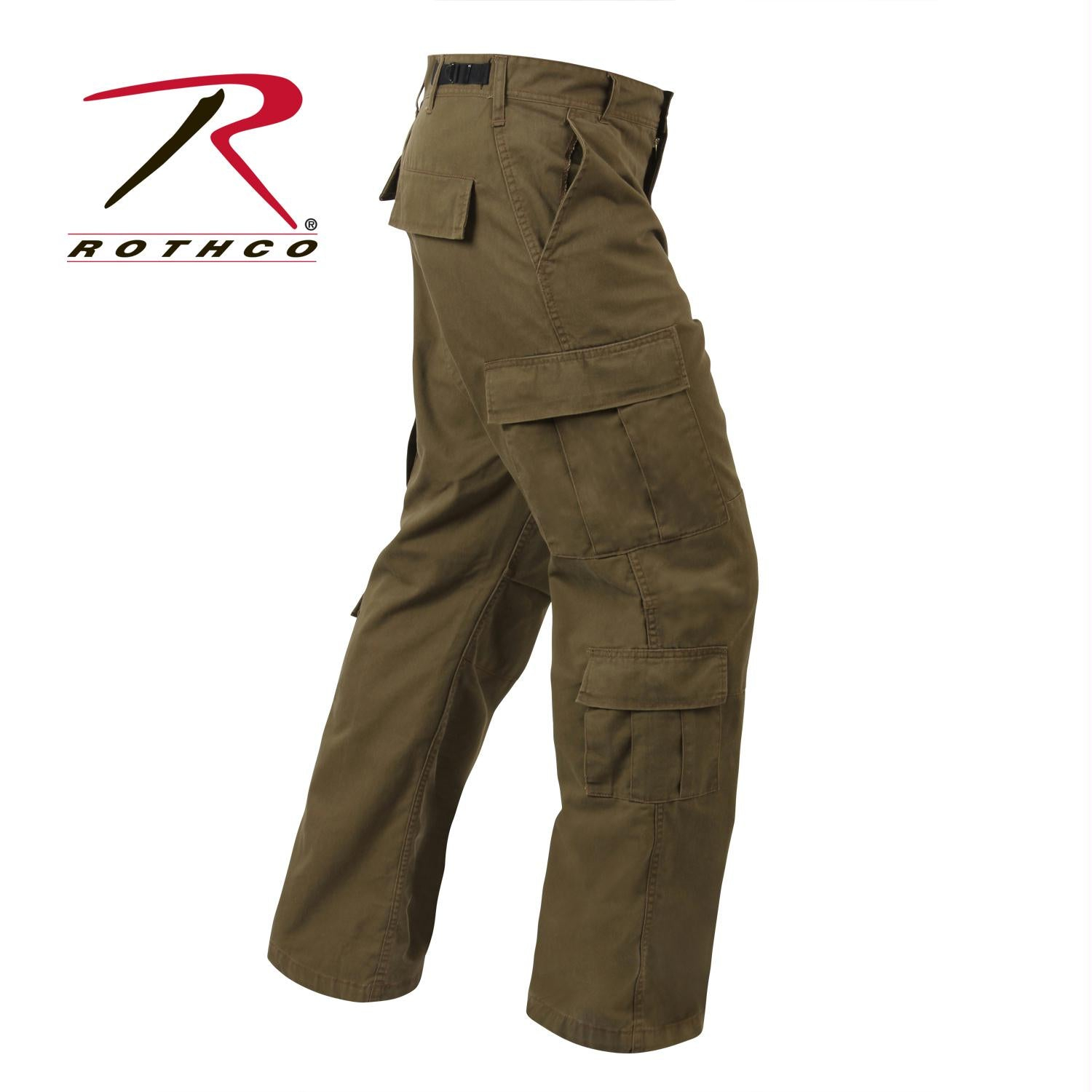 Rothco Vintage Paratrooper Fatigue Pants - Russet Brown / 3XL