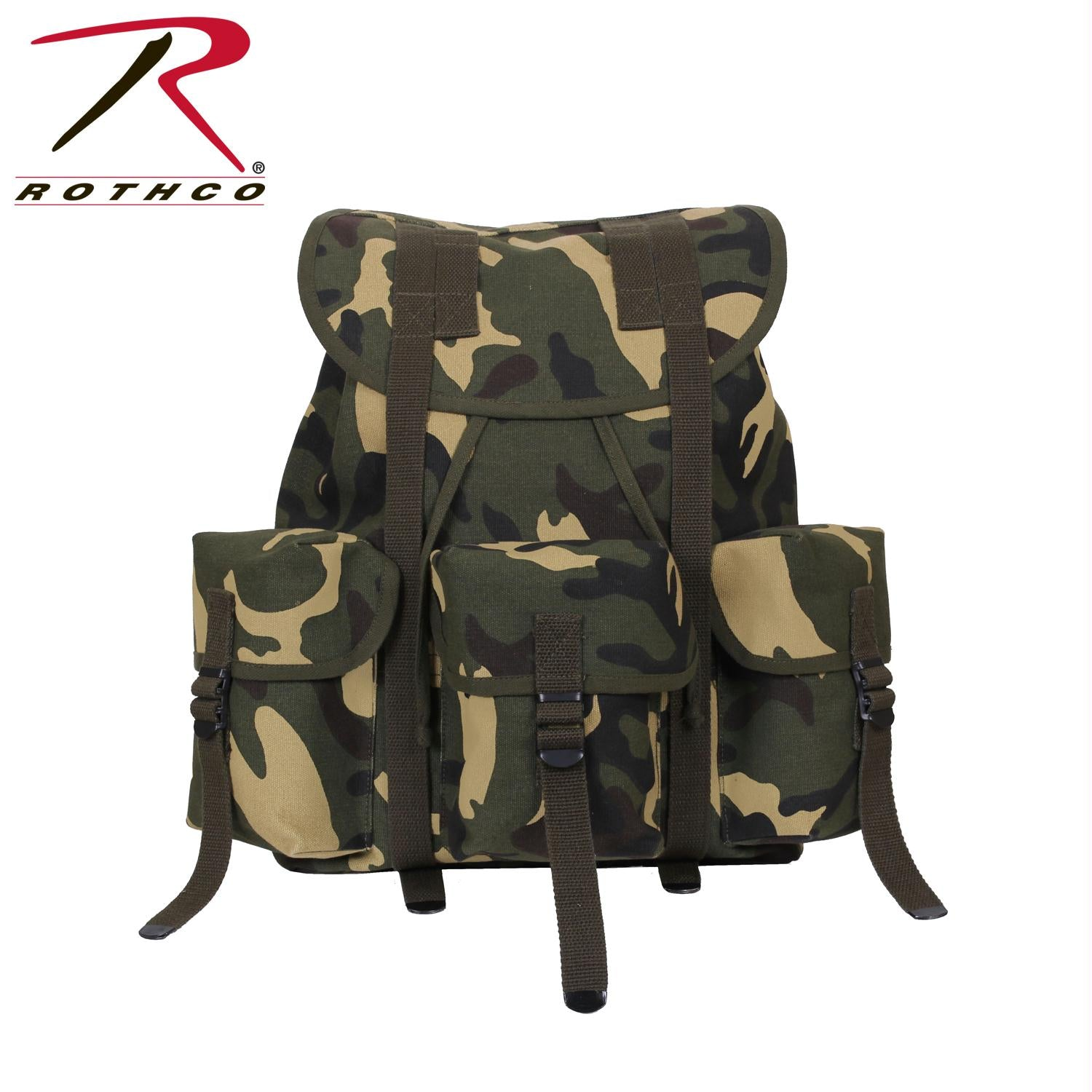 Rothco G.I. Type Heavyweight Mini Alice Pack - Woodland Camo