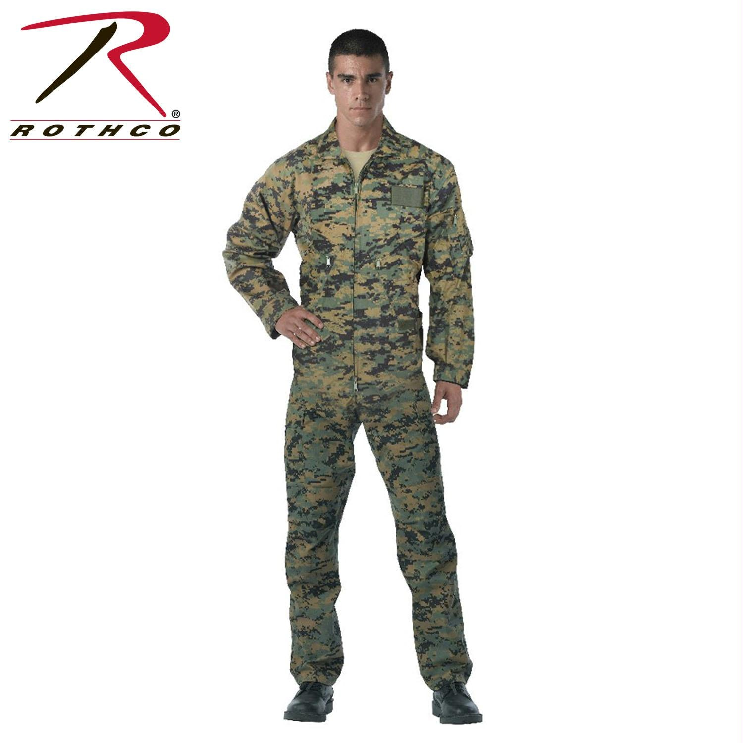 Rothco Flightsuits - Woodland Digital Camo / 2XL