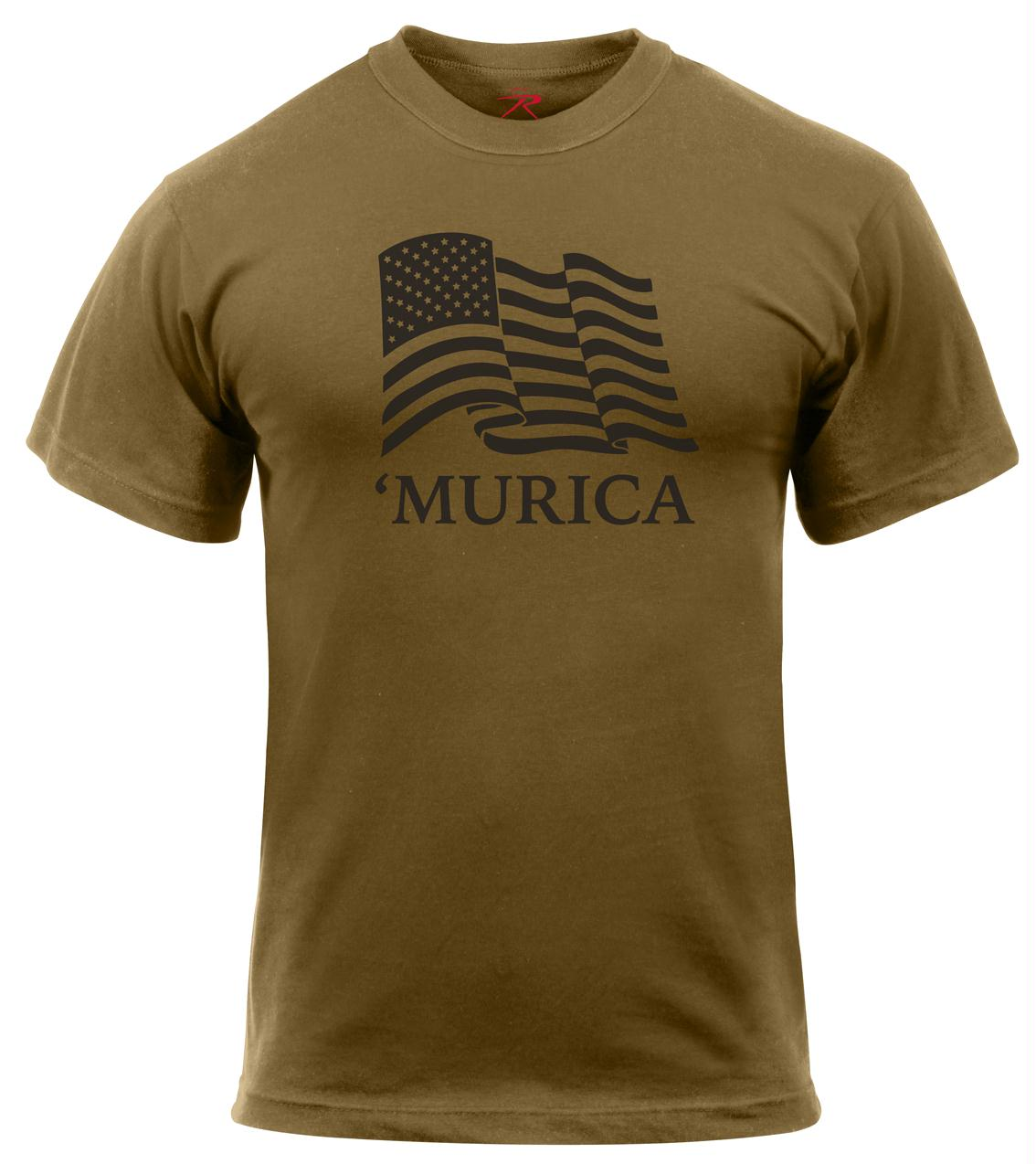 Rothco 'Murica US Flag T-Shirt