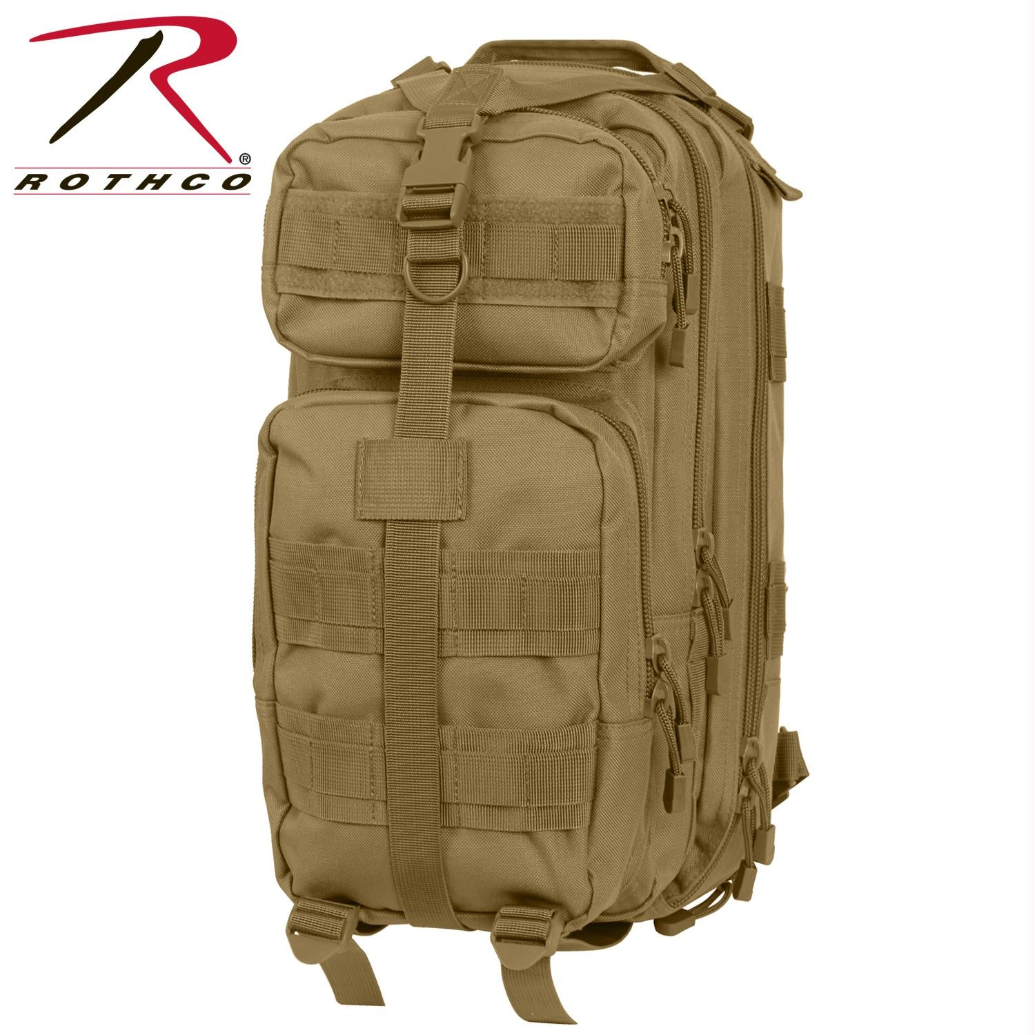 Rothco Convertible Medium Transport Pack - Coyote Brown
