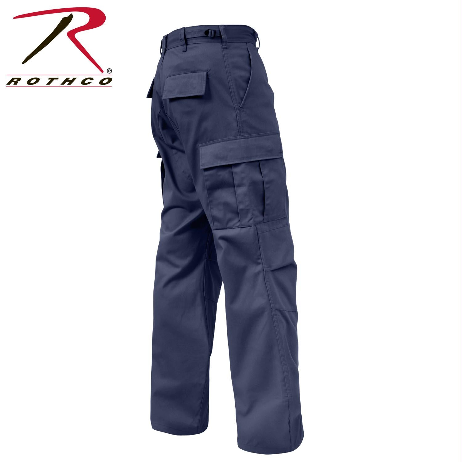 Rothco Relaxed Fit Zipper Fly BDU Pants - Navy Blue / 2XL