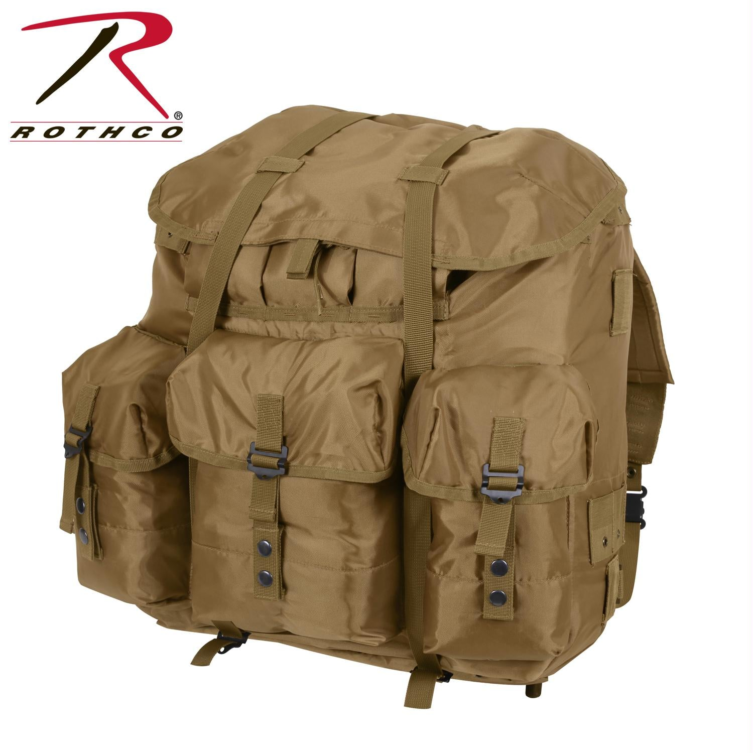 Rothco G.I. Type Large Alice Pack - Coyote Brown
