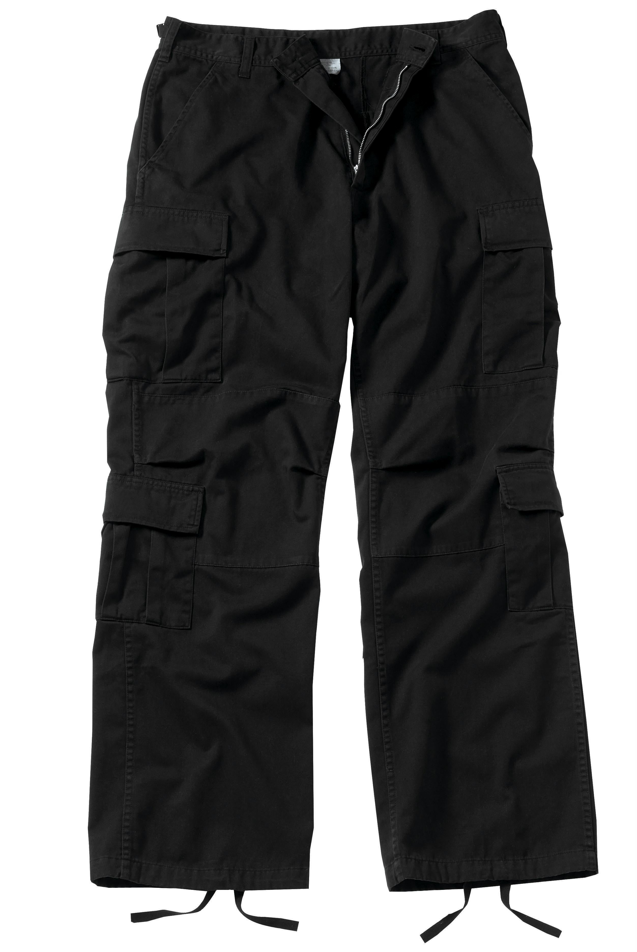 Rothco Vintage Paratrooper Fatigue Pants - Black / 2XL