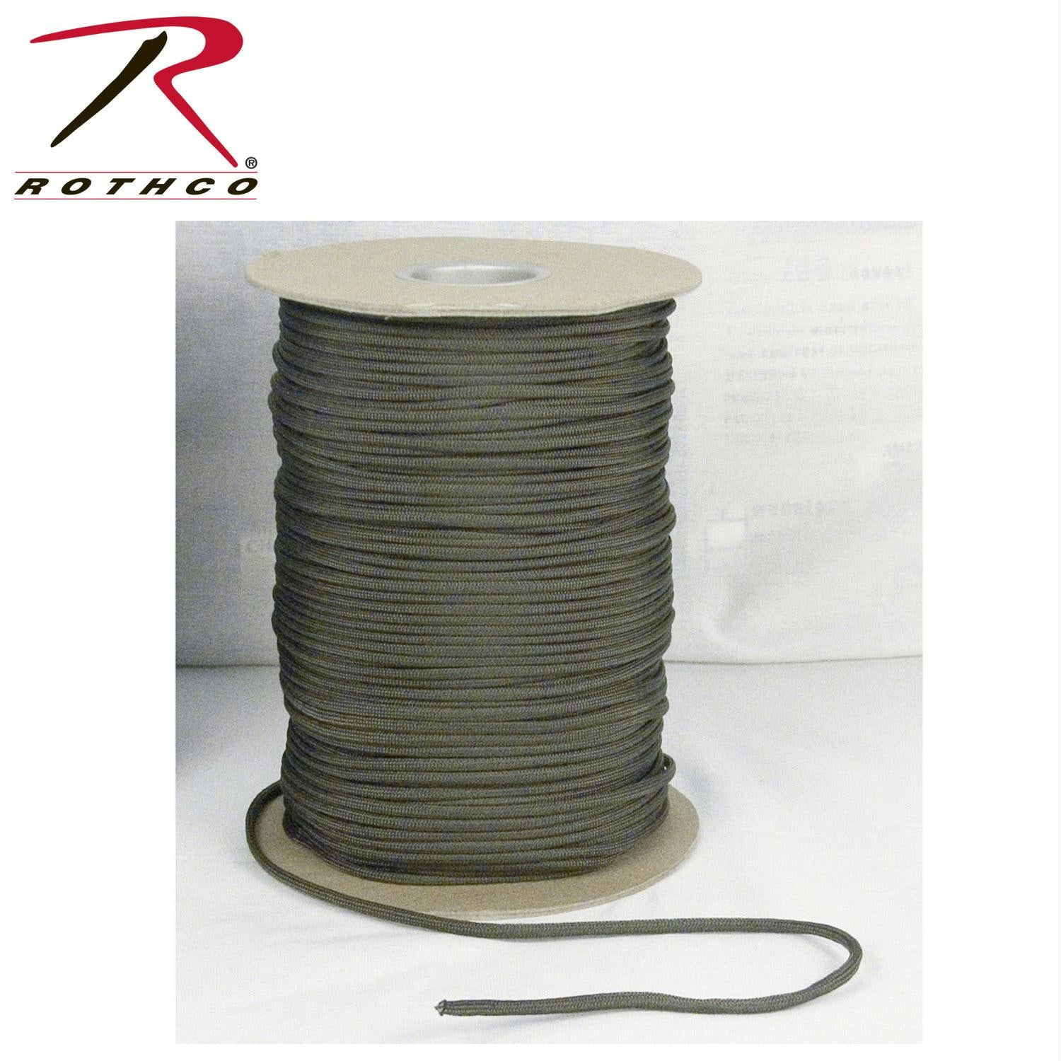 Rothco Nylon Paracord 550lb 1000 Ft Spool - Olive Drab